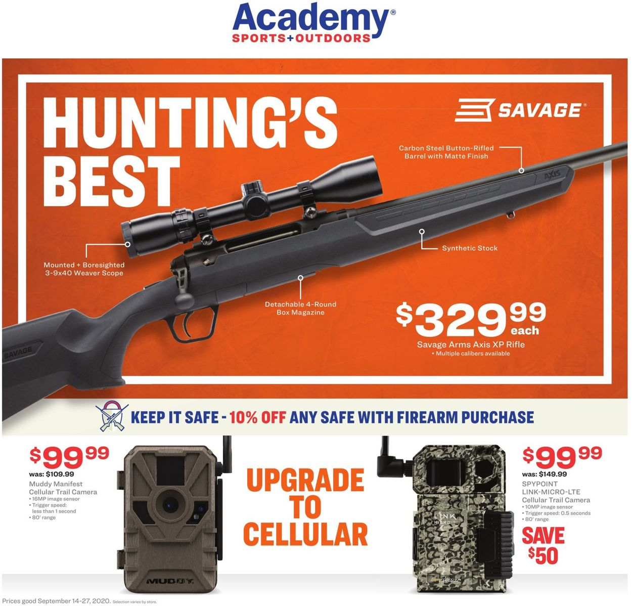 Catalogue Academy Sports from 09/14/2020