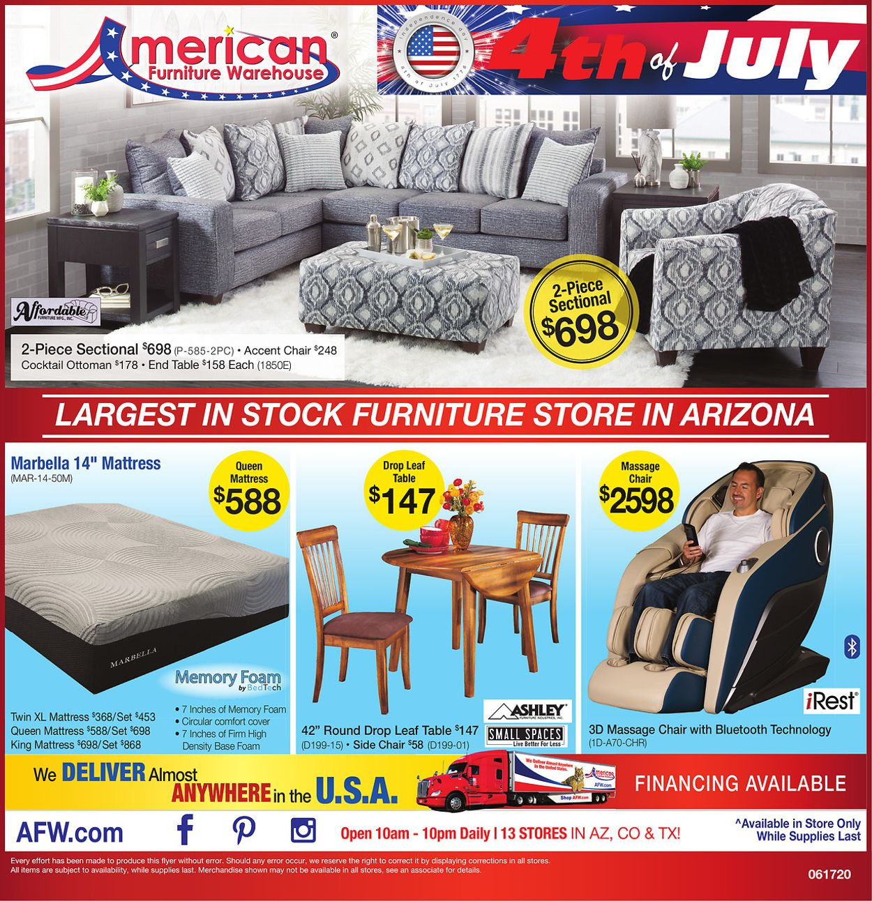 Catalogue American Furniture Warehouse from 06/18/2020