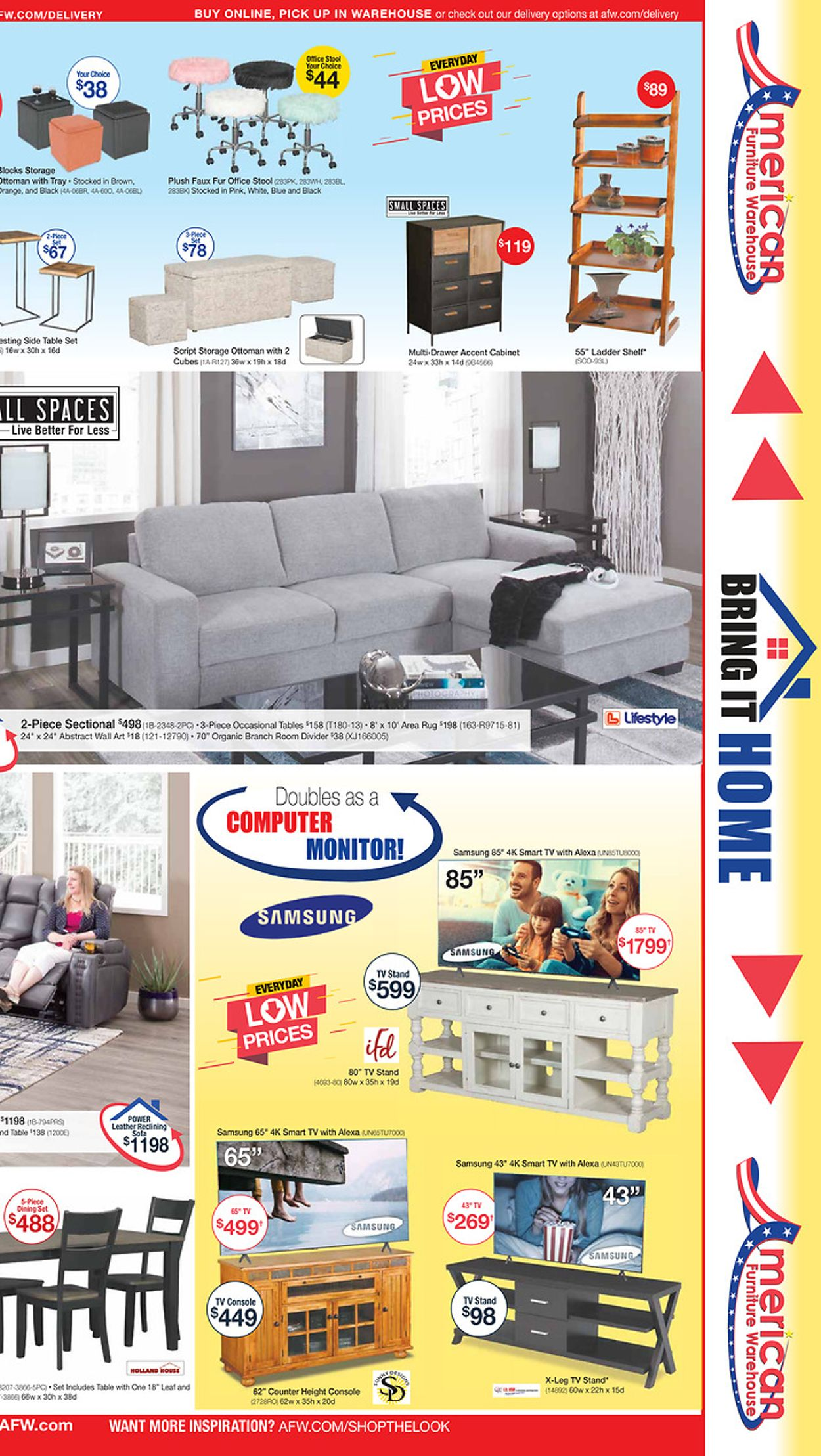Catalogue American Furniture Warehouse from 07/13/2020