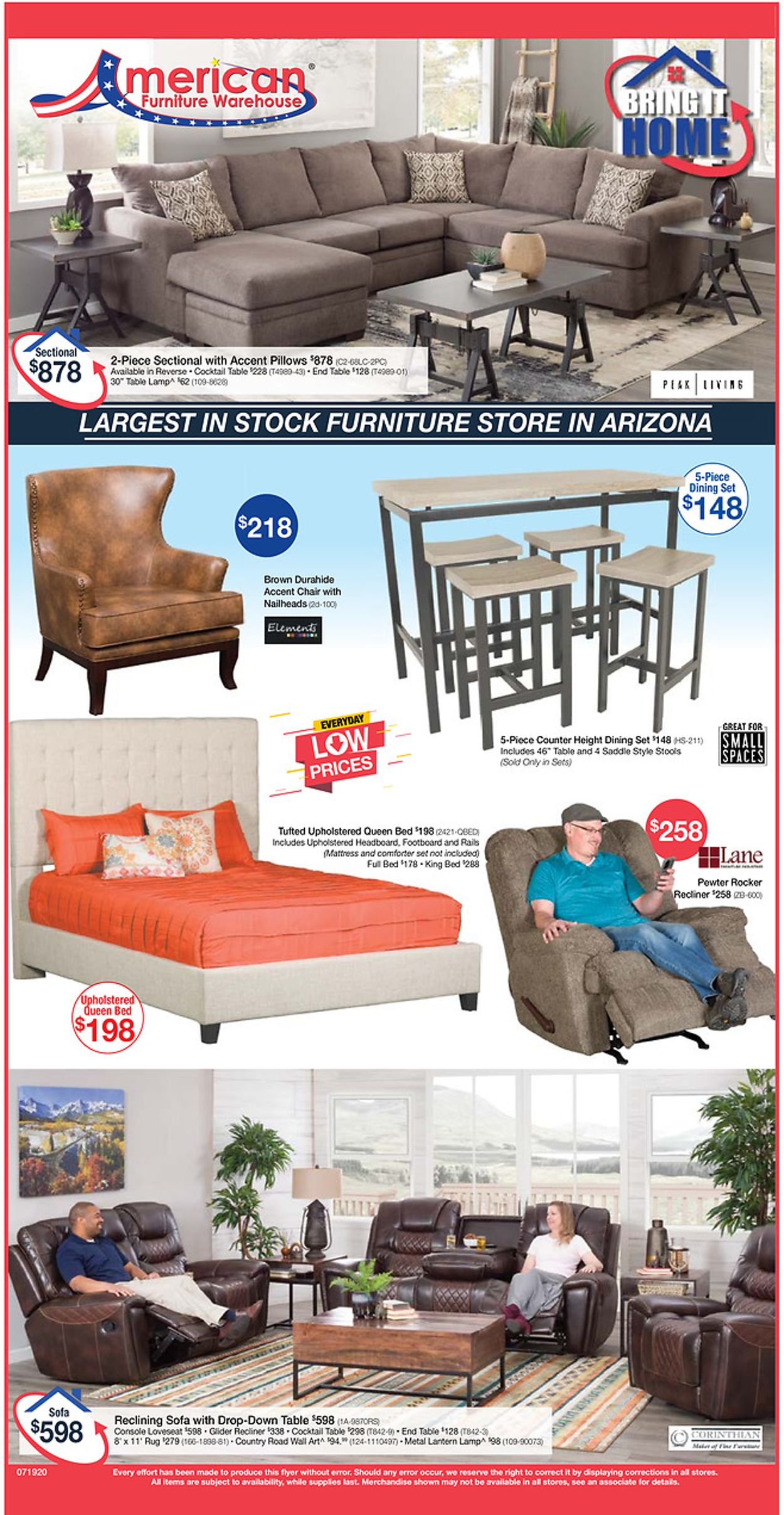 Catalogue American Furniture Warehouse from 07/08/2020