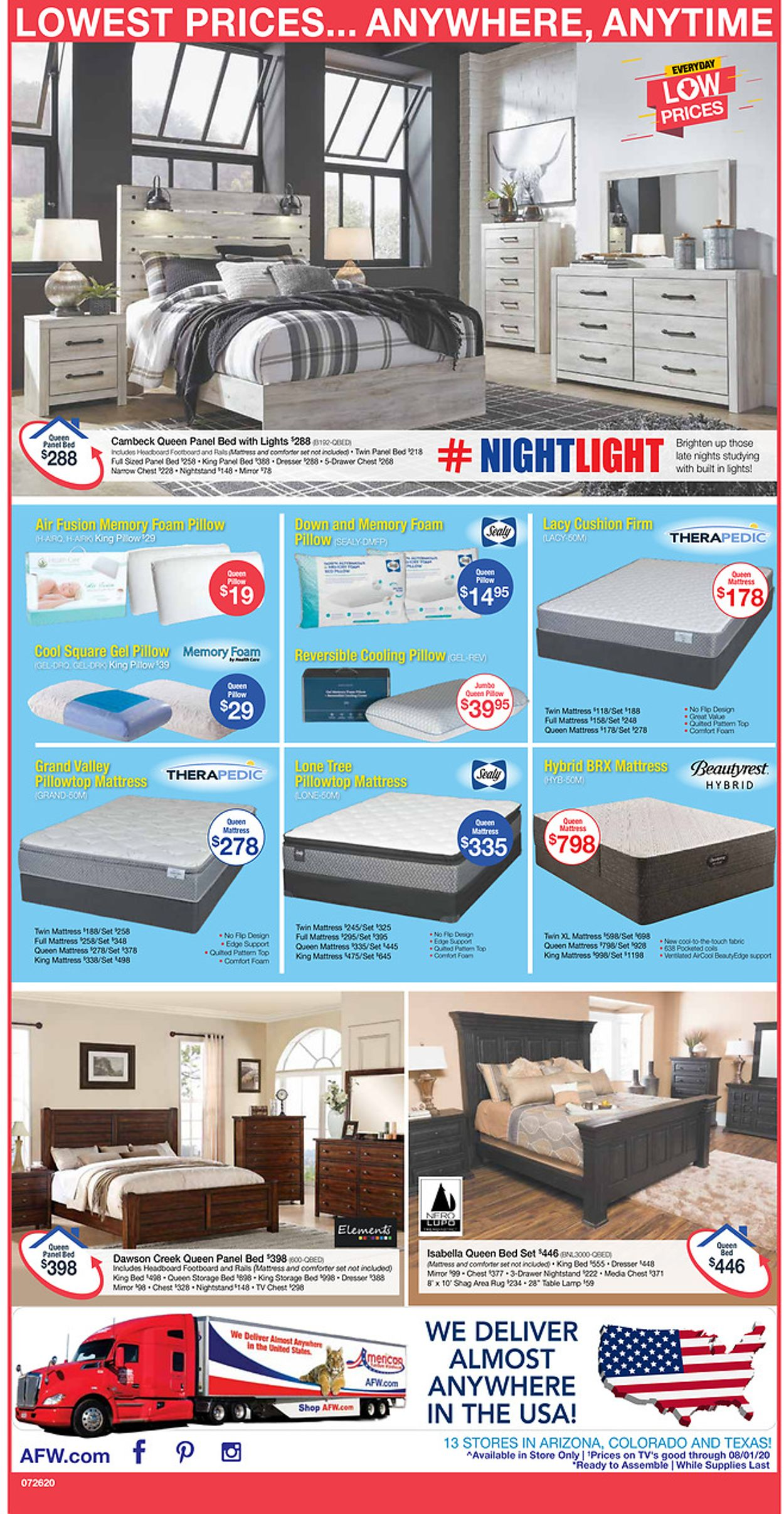 Catalogue American Furniture Warehouse from 07/26/2020