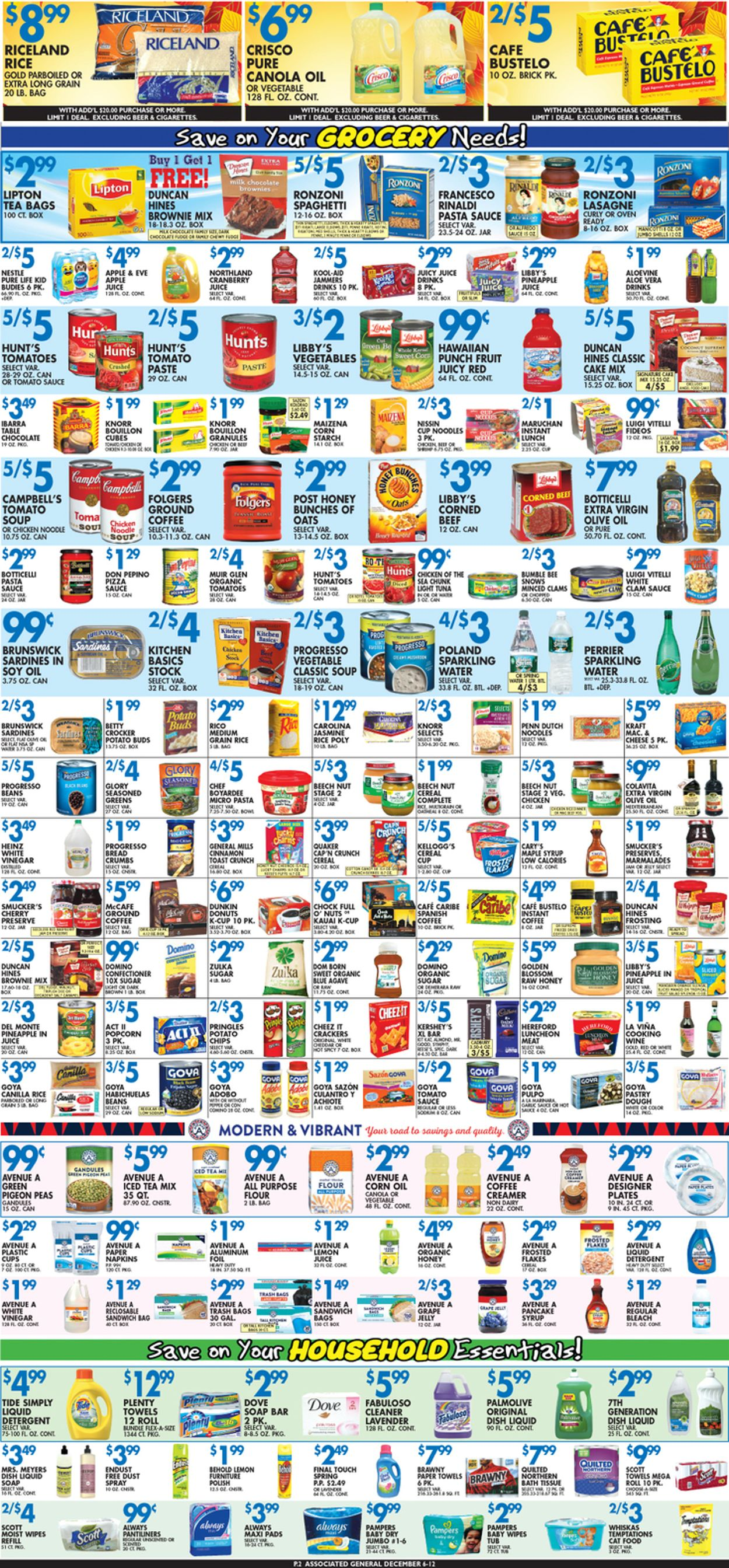 Catalogue Associated Supermarkets from 12/06/2019