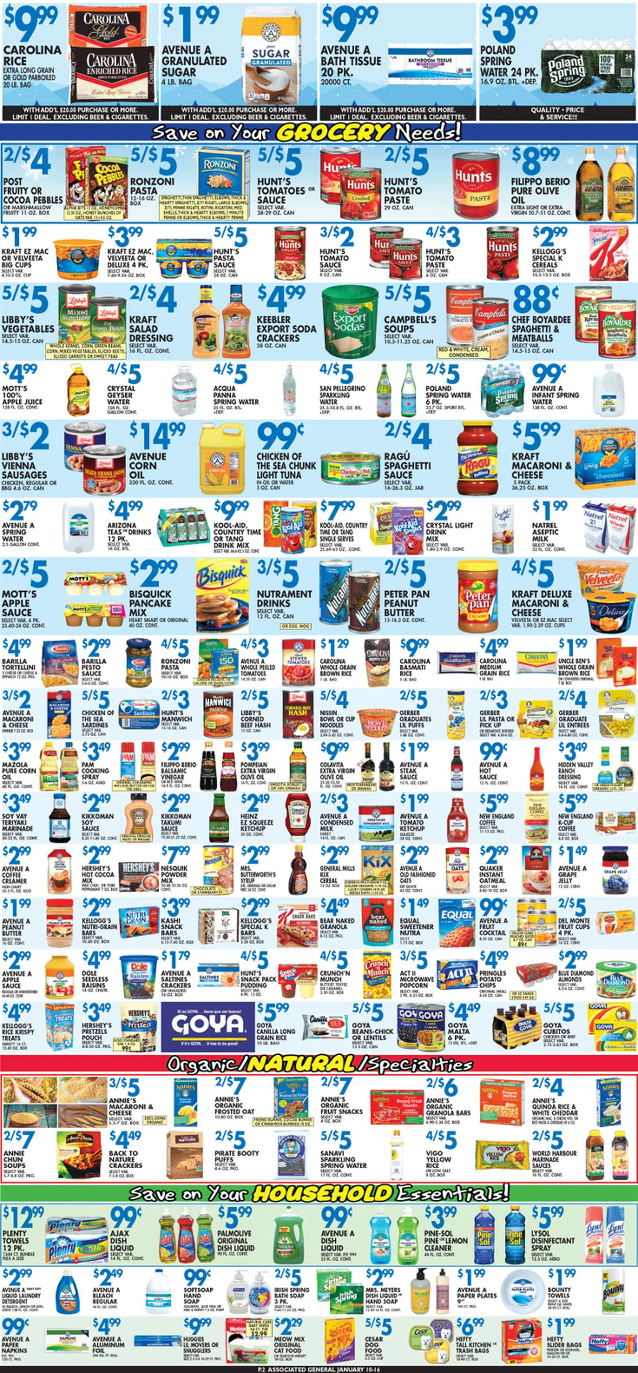 Catalogue Associated Supermarkets from 01/10/2020