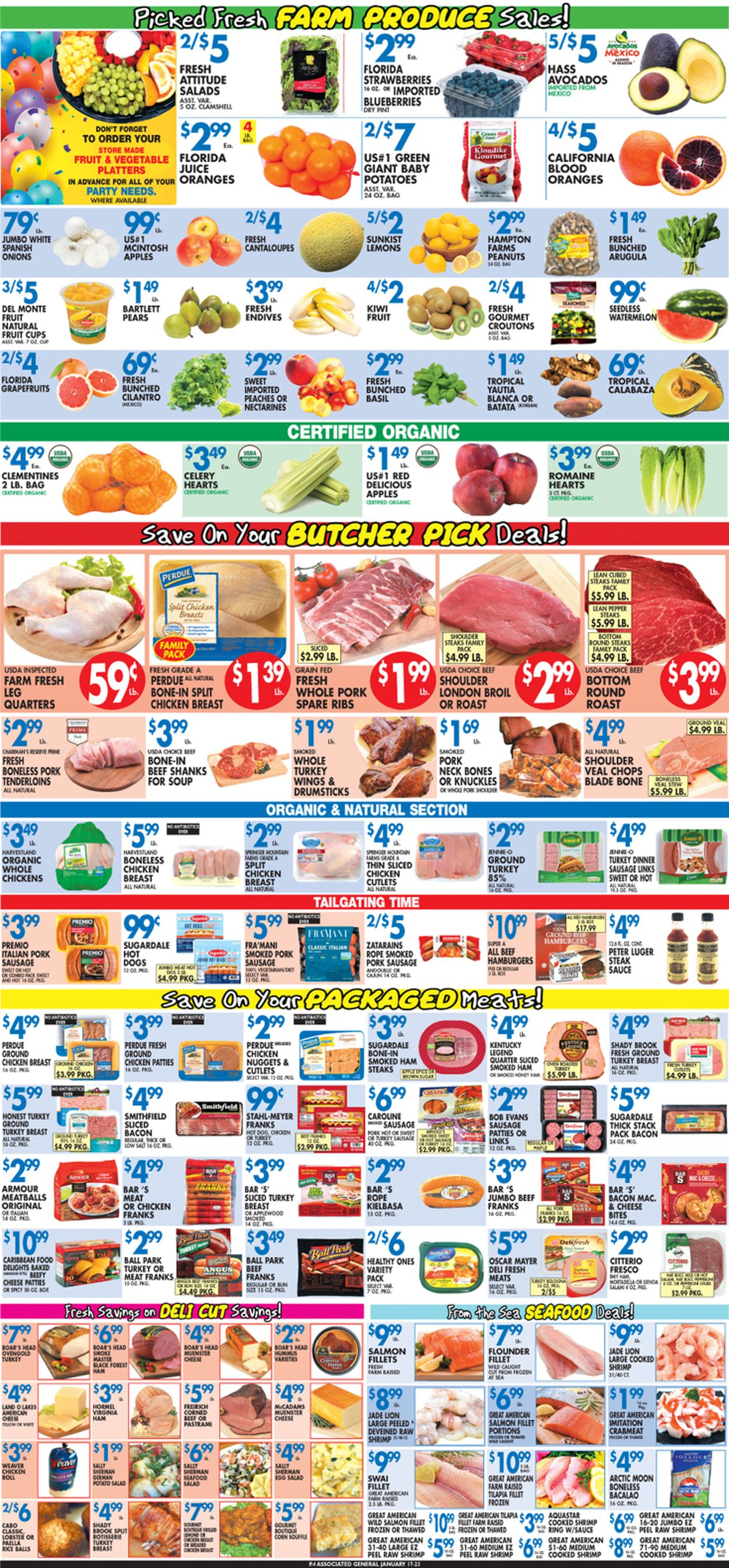 Catalogue Associated Supermarkets from 01/17/2020