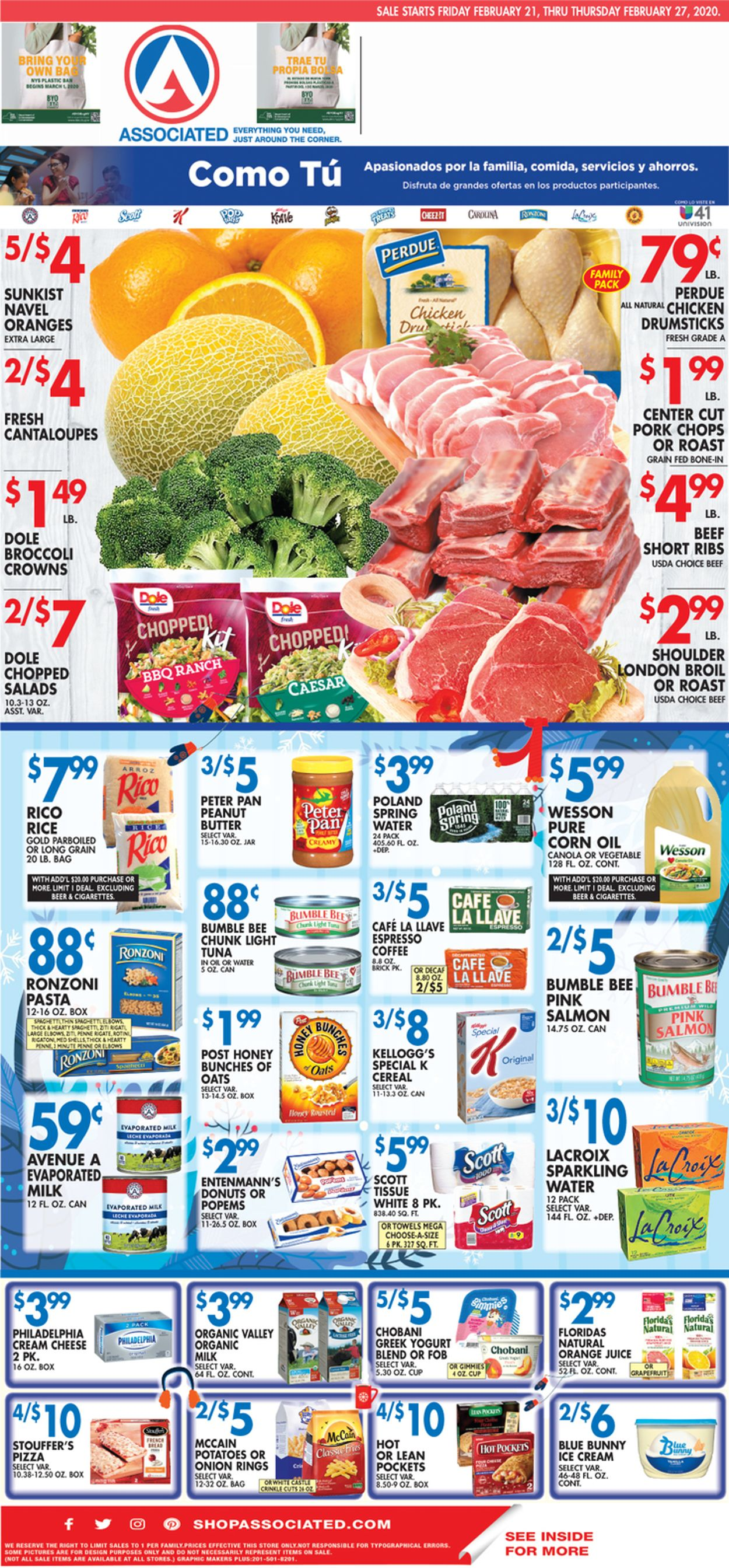 Catalogue Associated Supermarkets from 02/21/2020