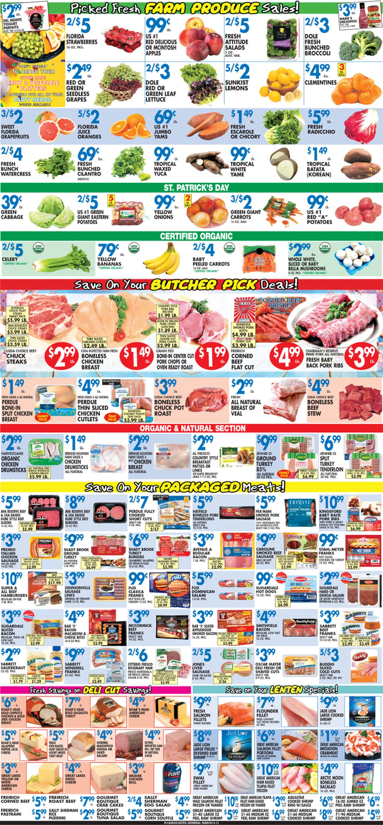 Catalogue Associated Supermarkets from 03/06/2020