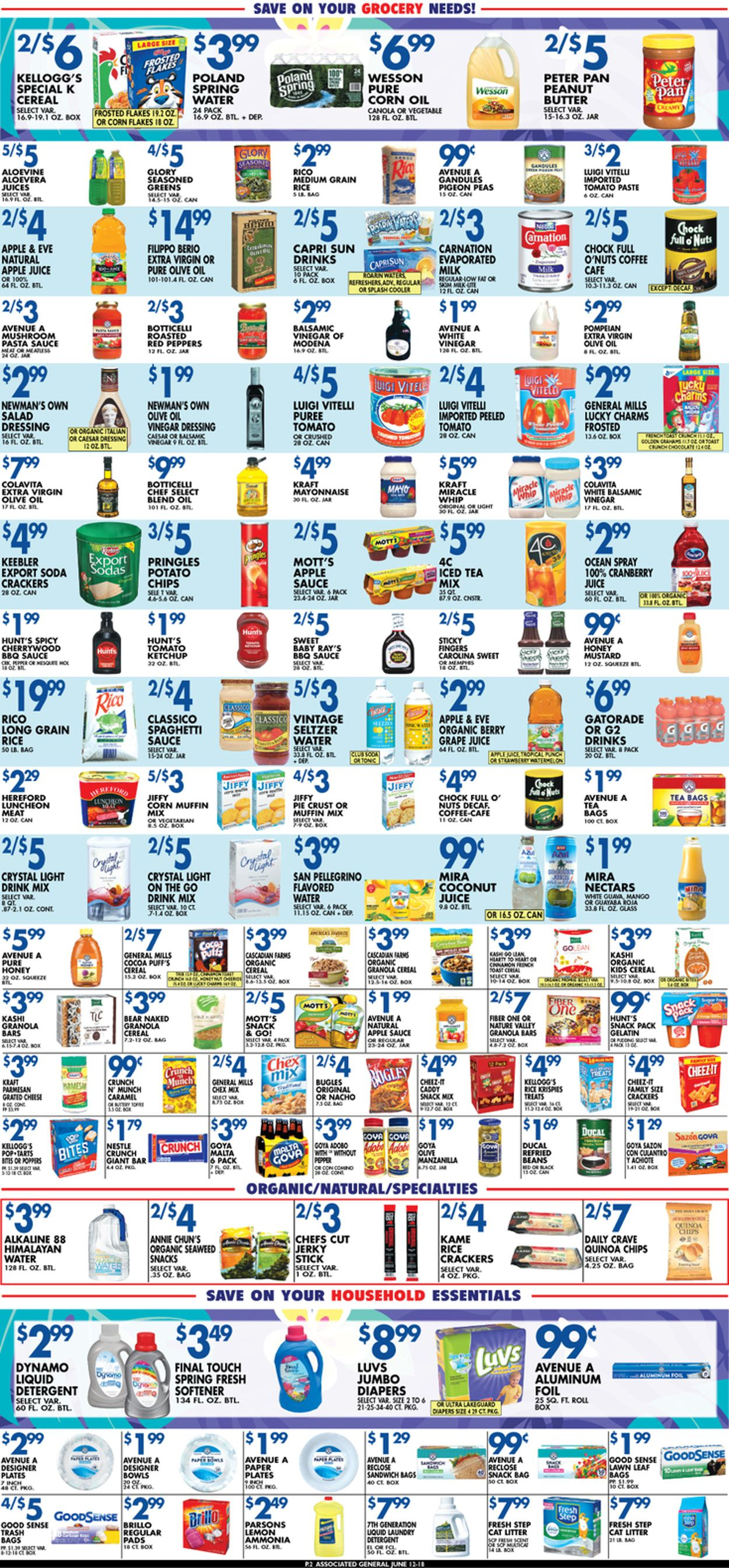 Catalogue Associated Supermarkets from 06/12/2020