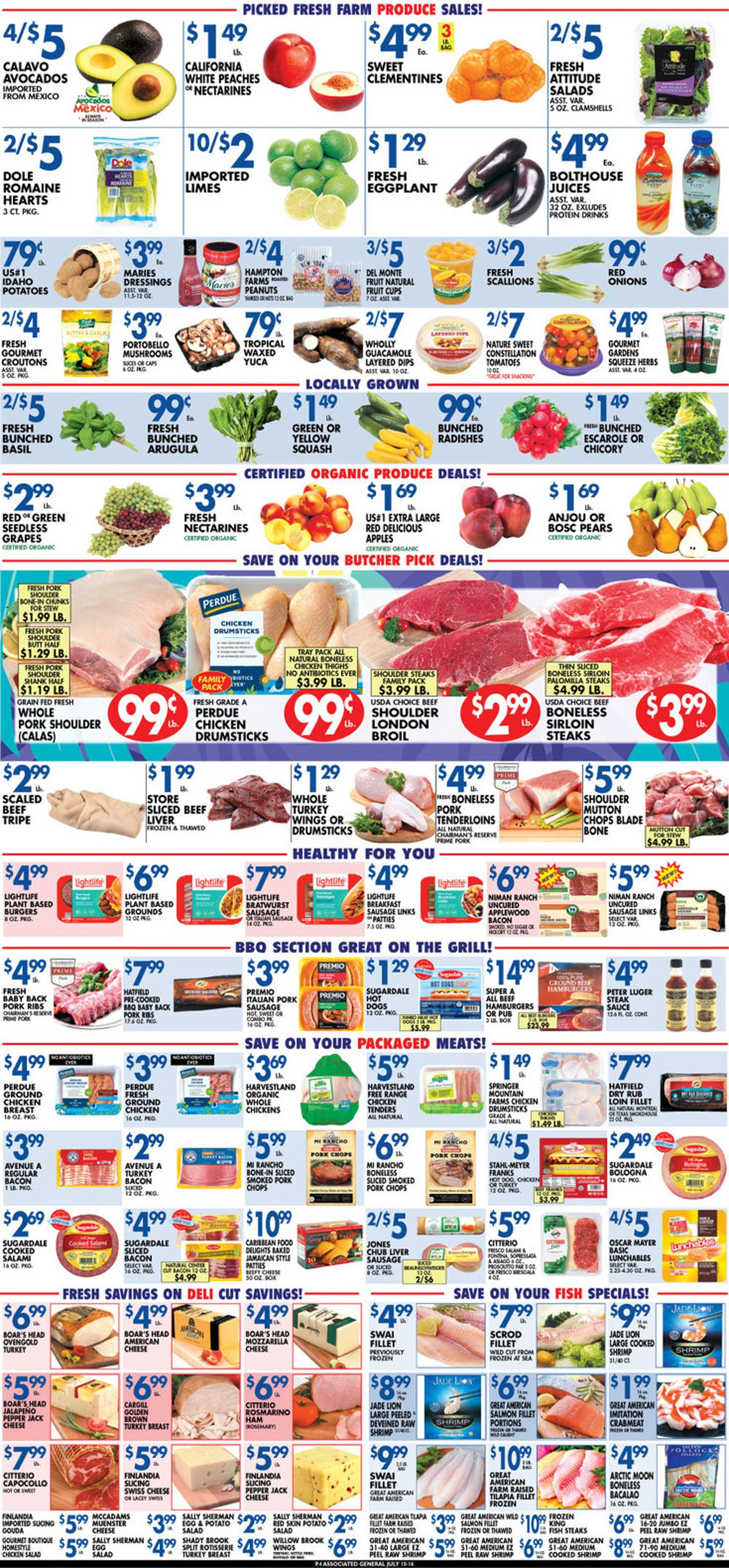 Catalogue Associated Supermarkets from 07/10/2020
