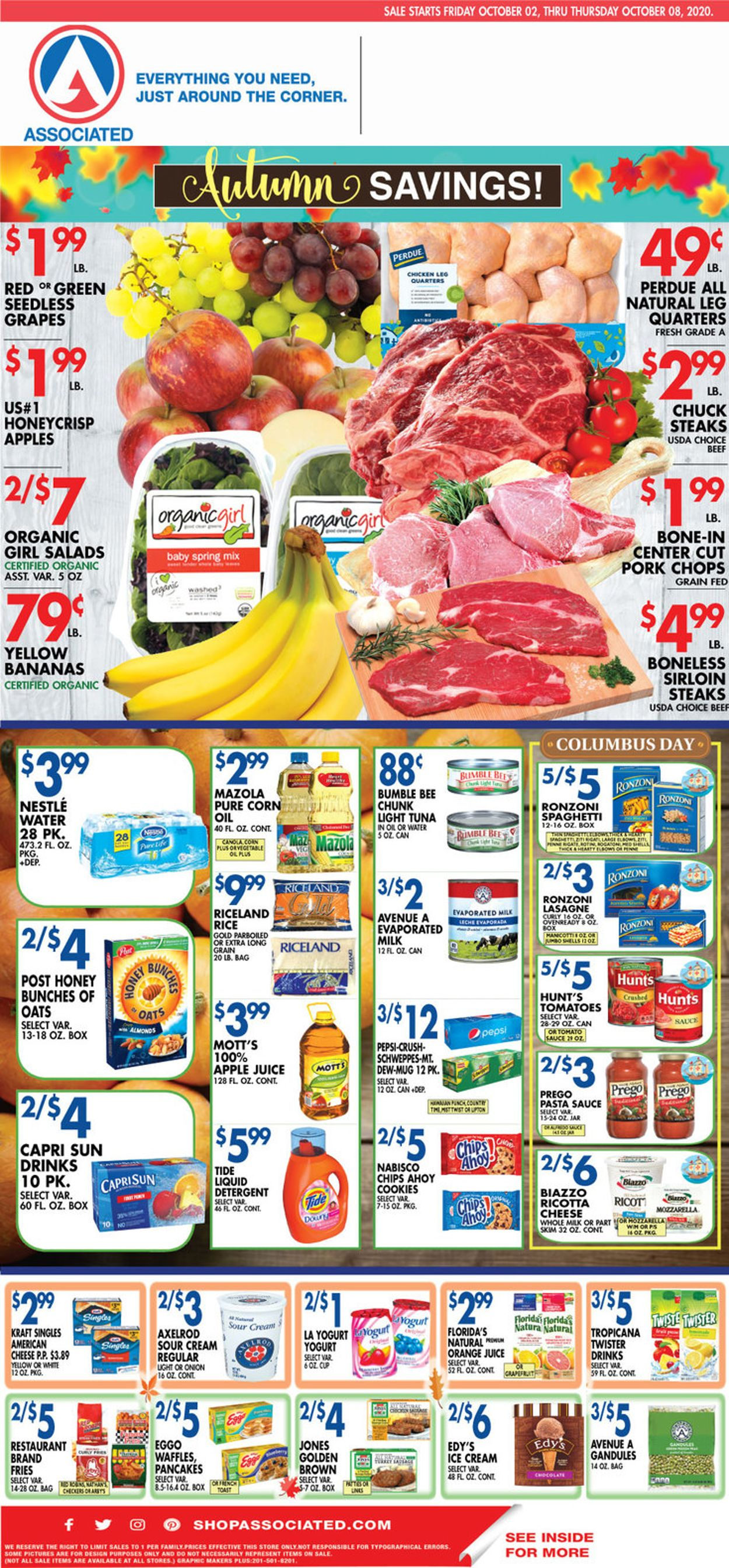 Catalogue Associated Supermarkets from 10/02/2020