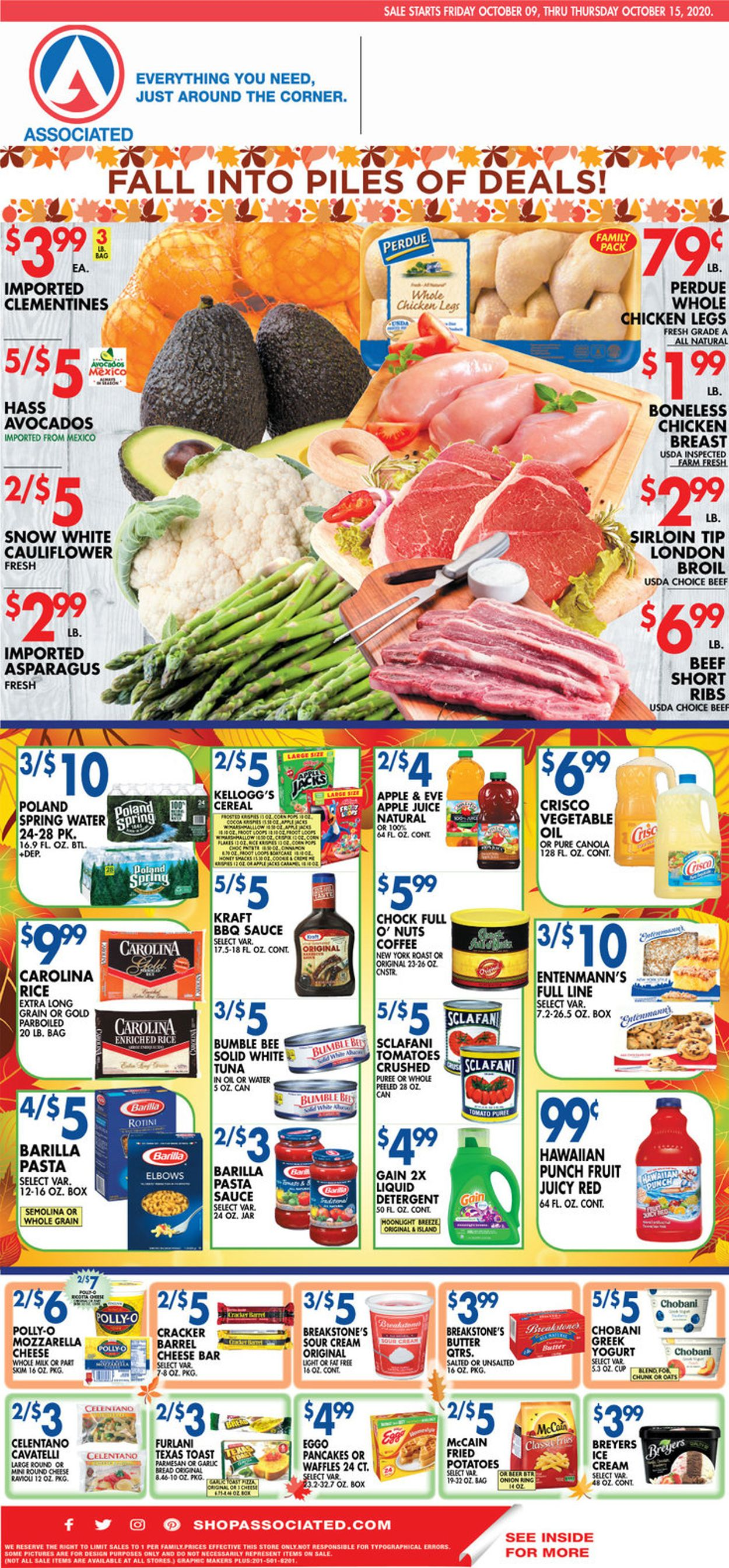 Catalogue Associated Supermarkets from 10/09/2020