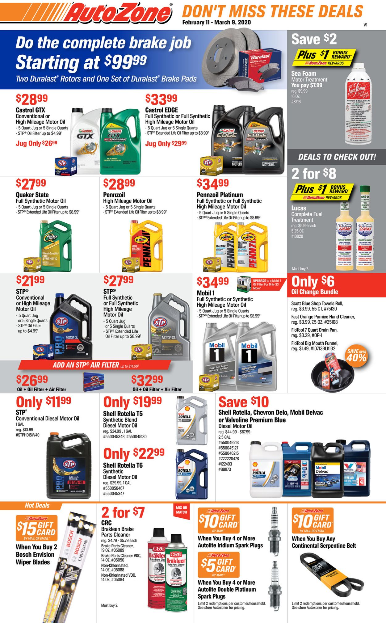 Catalogue Autozone from 02/11/2020