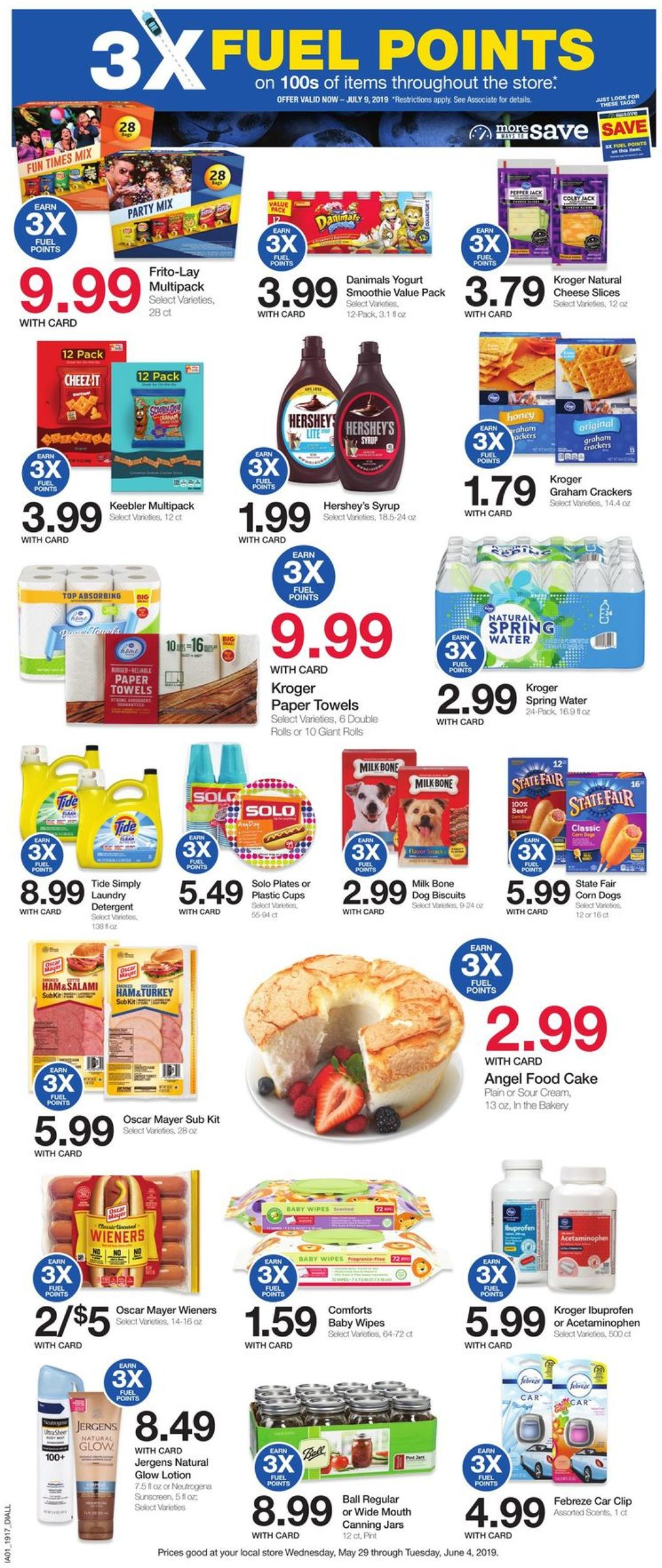 Catalogue Baker's from 05/29/2019