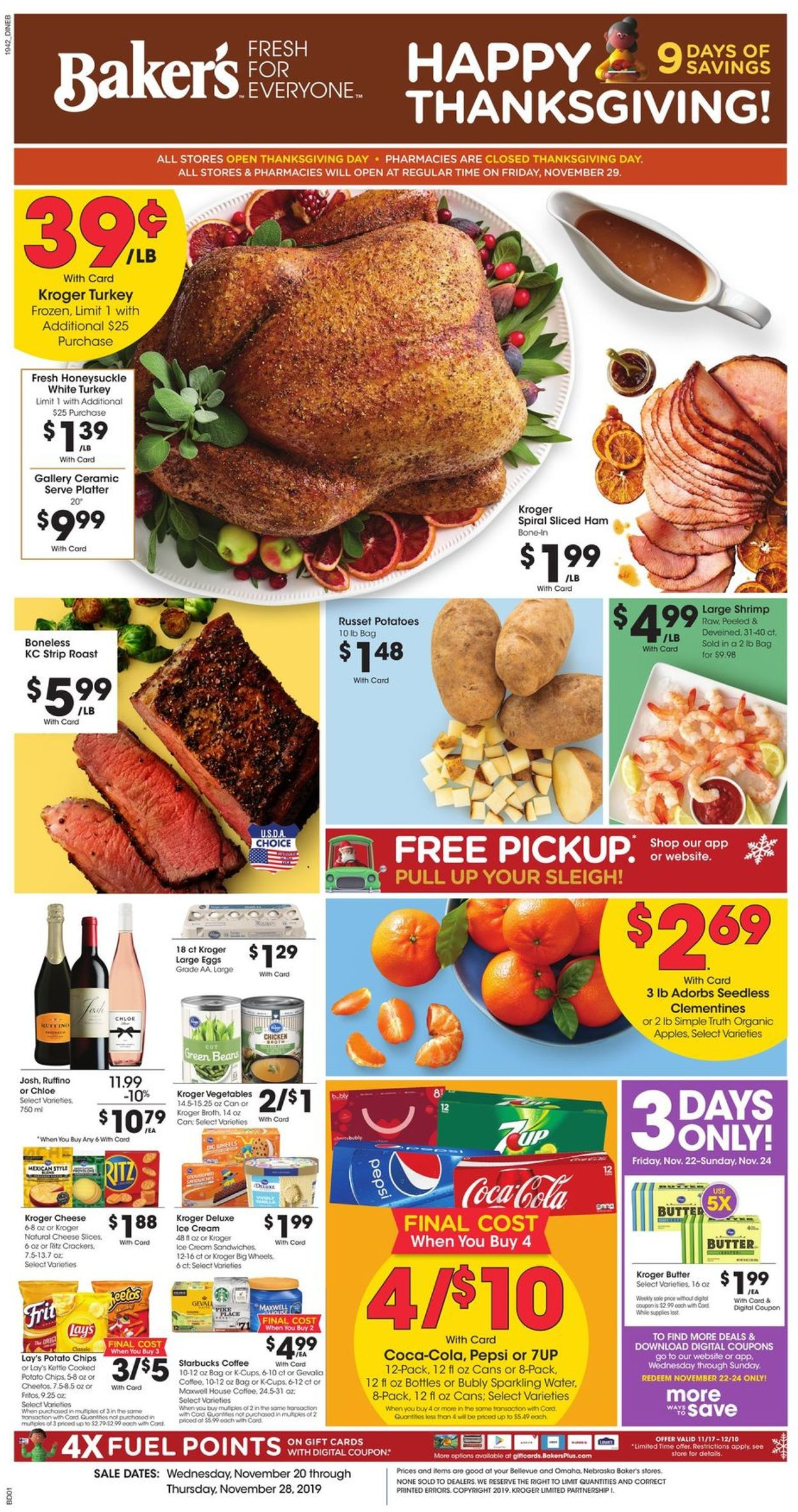 Catalogue Baker's from 11/20/2019