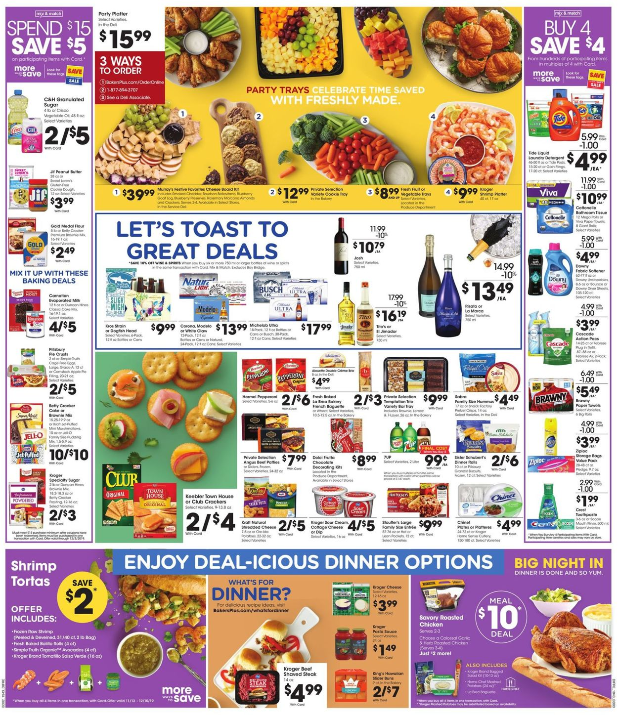 Catalogue Baker's from 11/29/2019