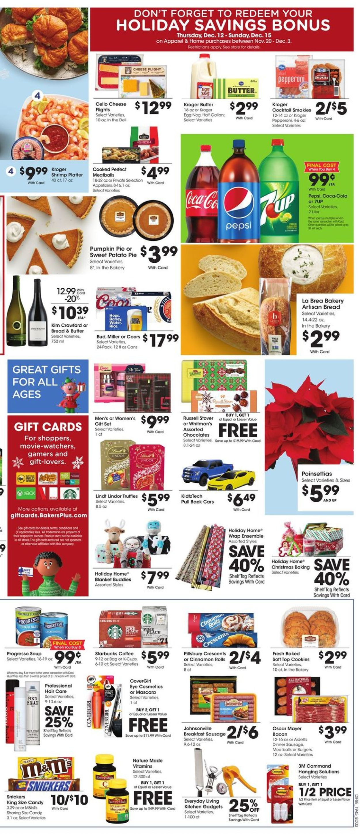 Catalogue Baker's - Holiday Ad 2019 from 12/11/2019