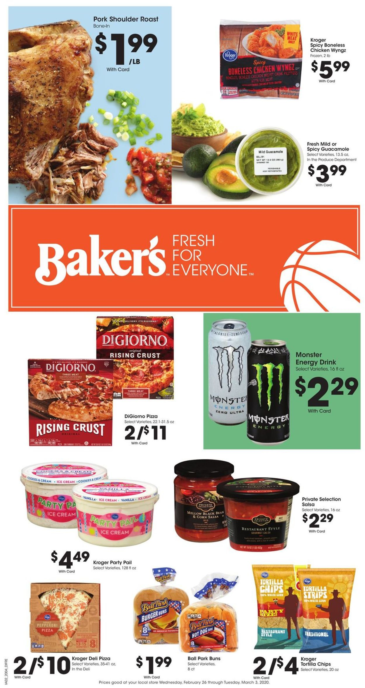 Catalogue Baker's from 02/26/2020