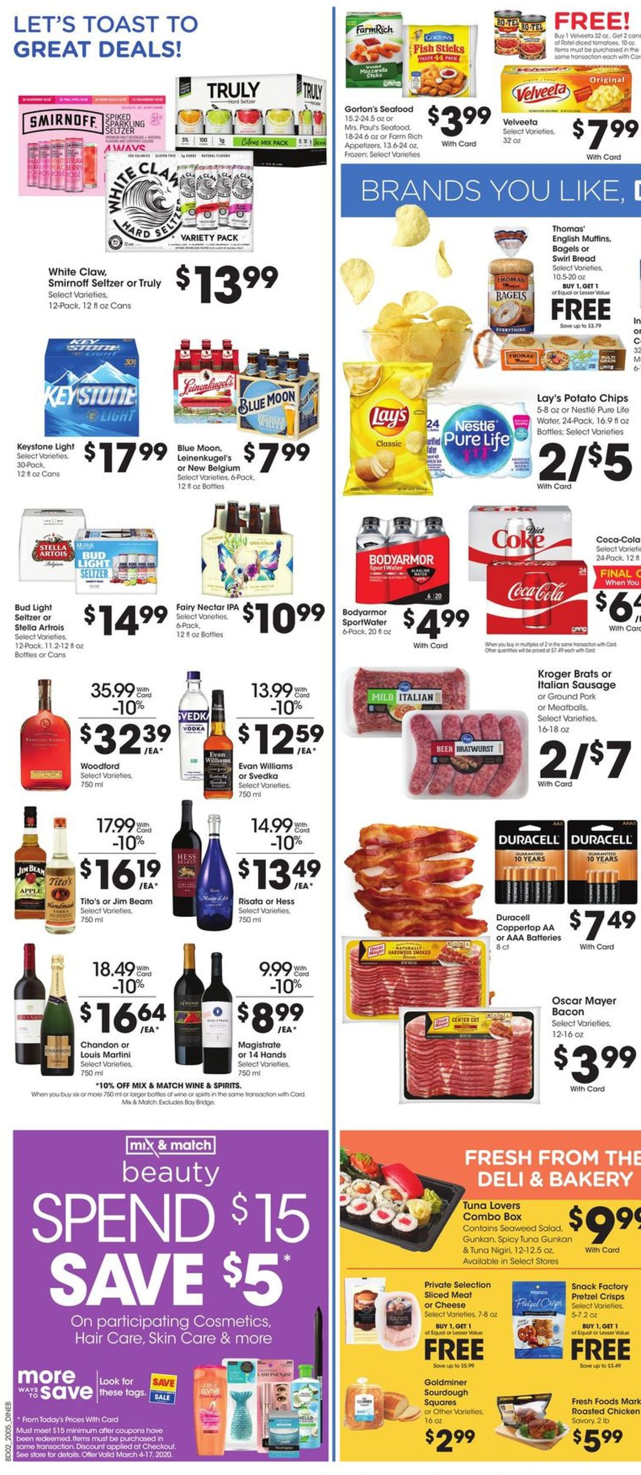 Catalogue Baker's from 03/04/2020