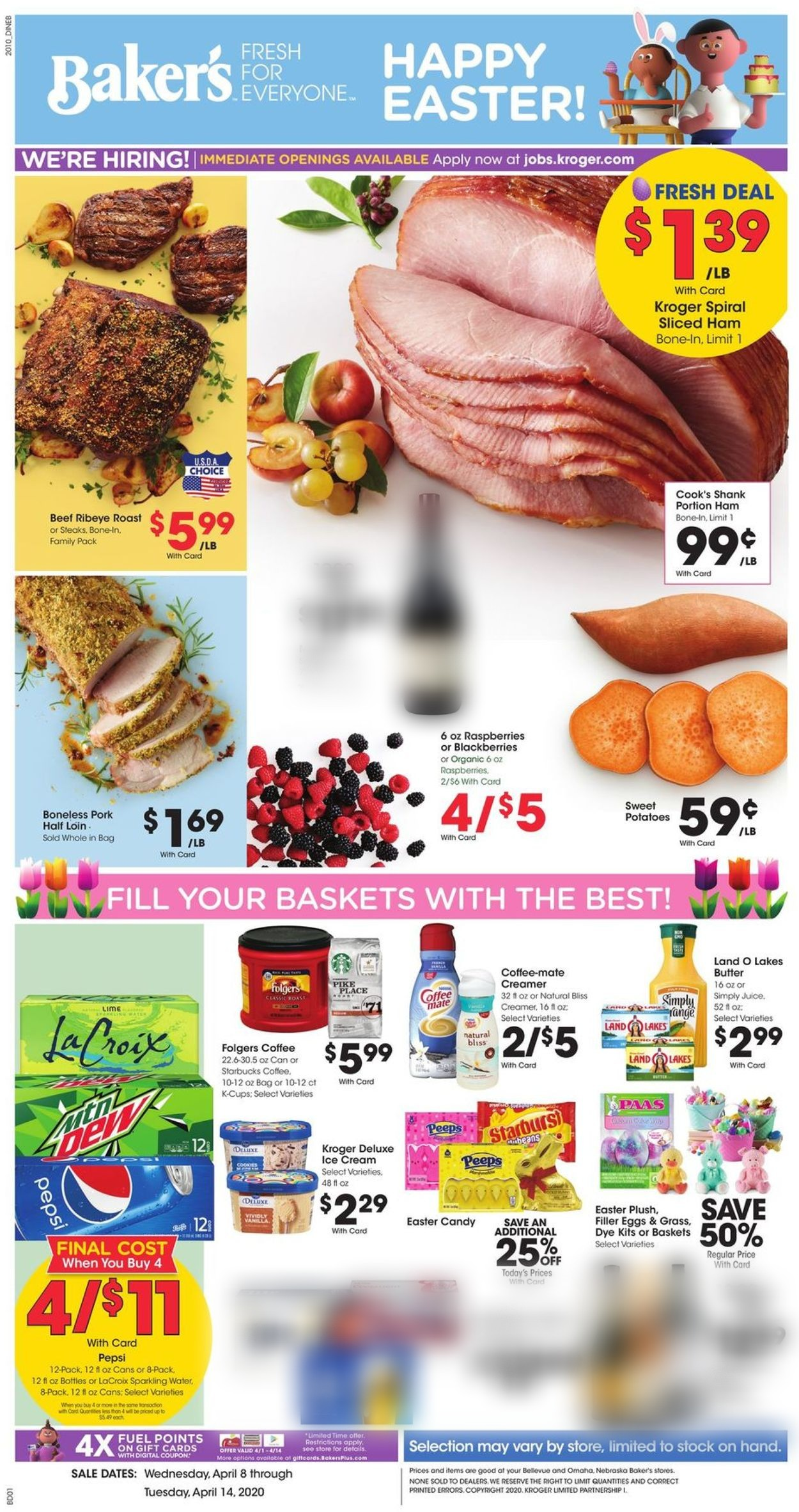 Catalogue Baker's from 04/08/2020