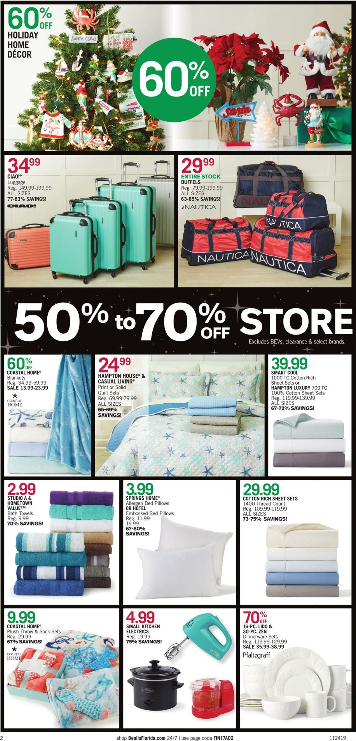 Catalogue Bealls Florida - Black Friday Ad 2019 from 11/24/2019