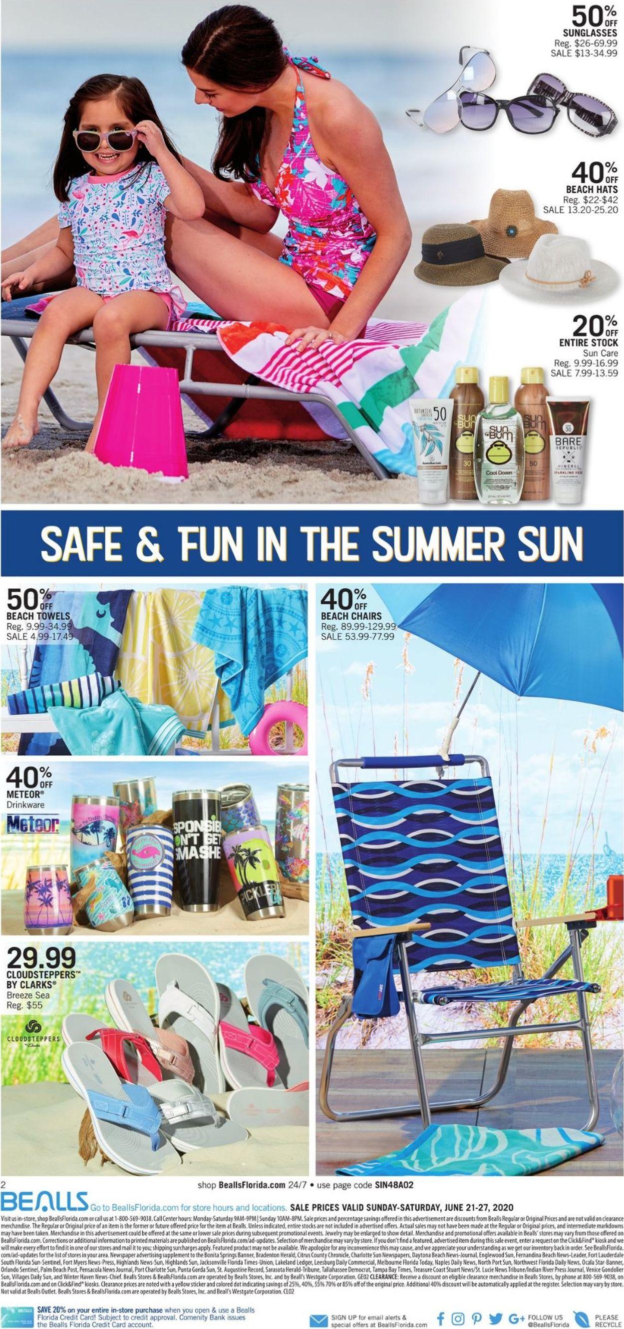 Catalogue Bealls Florida from 06/21/2020