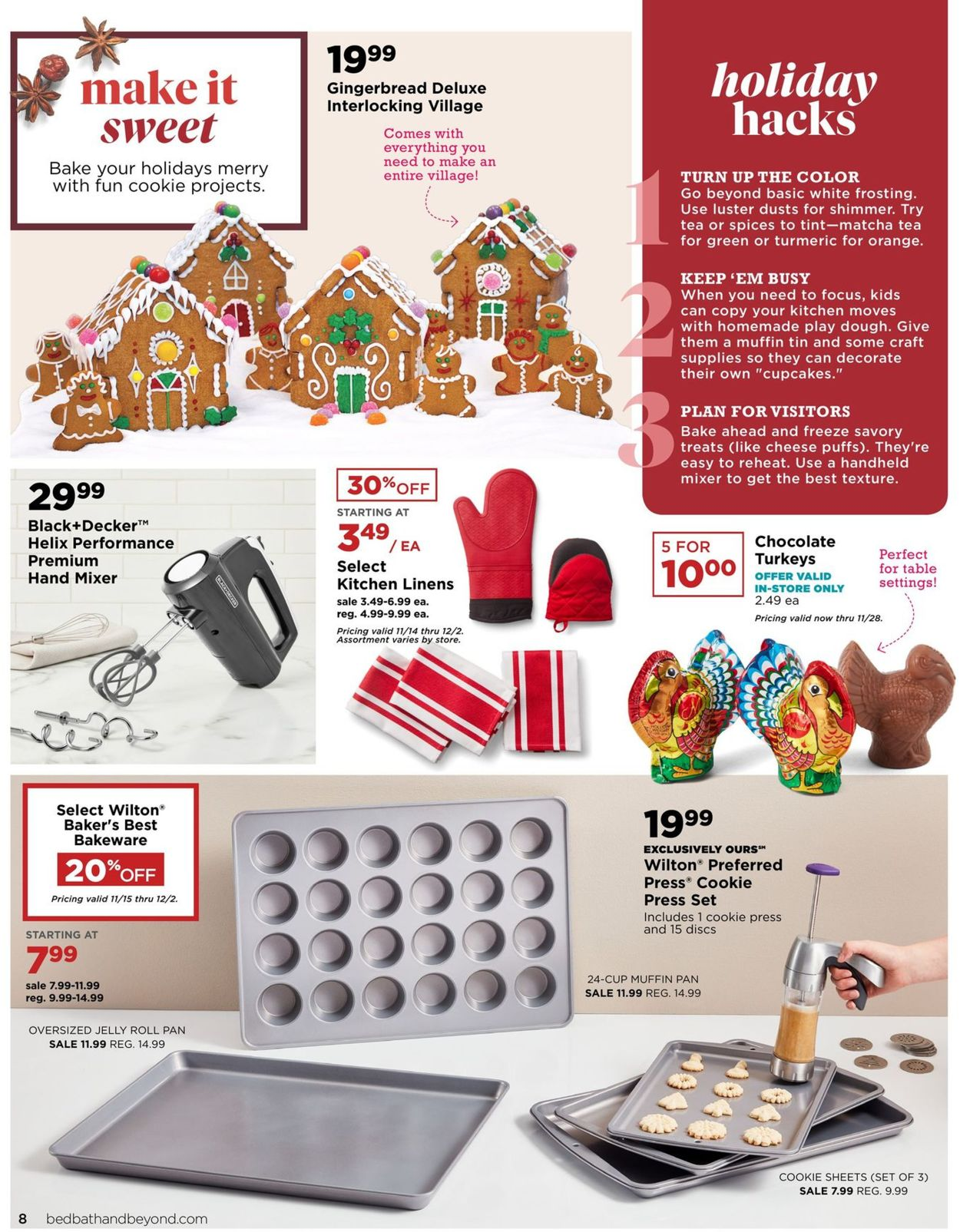 Catalogue Bed Bath and Beyond - Black Friday Ad 2019 from 11/17/2019
