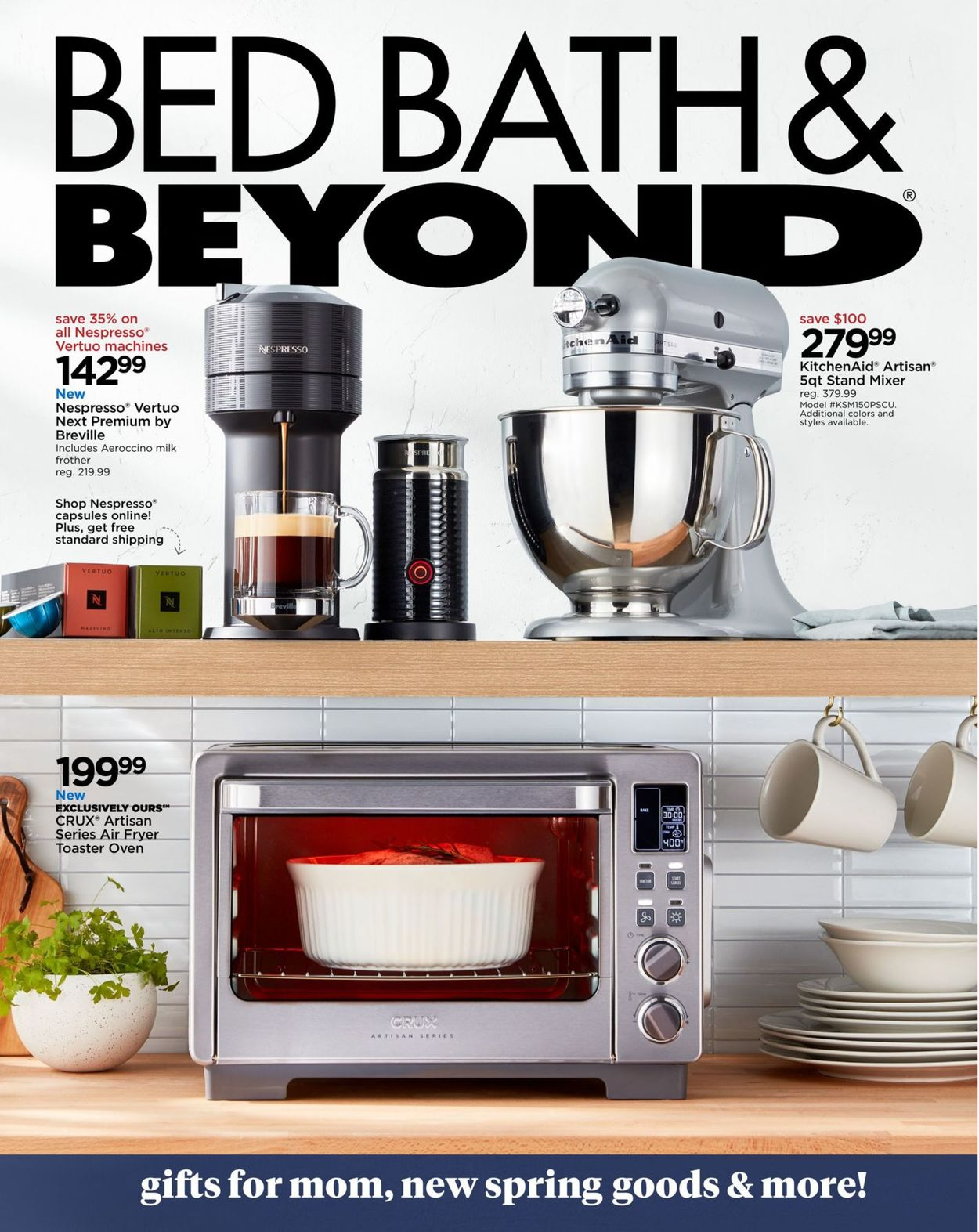 Catalogue Bed Bath and Beyond from 04/27/2020