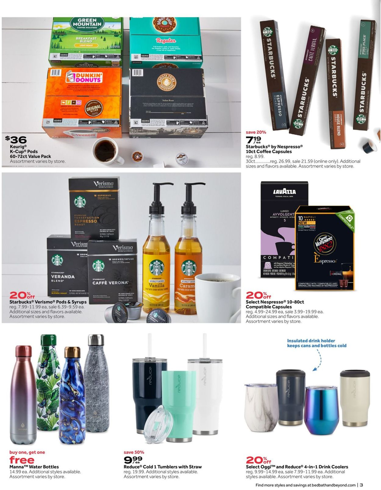 Catalogue Bed Bath and Beyond from 07/07/2020