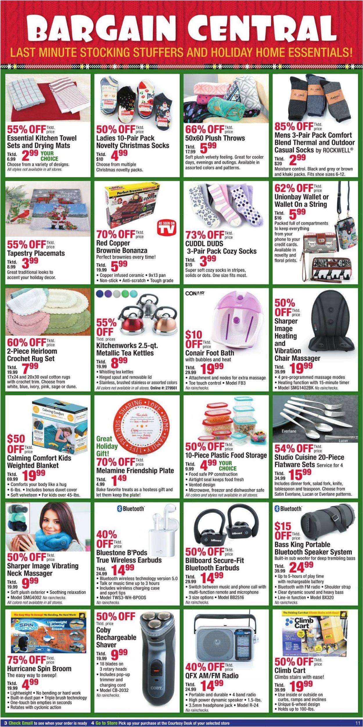 Catalogue Boscov's - Holiday Ad 2019 from 12/20/2019