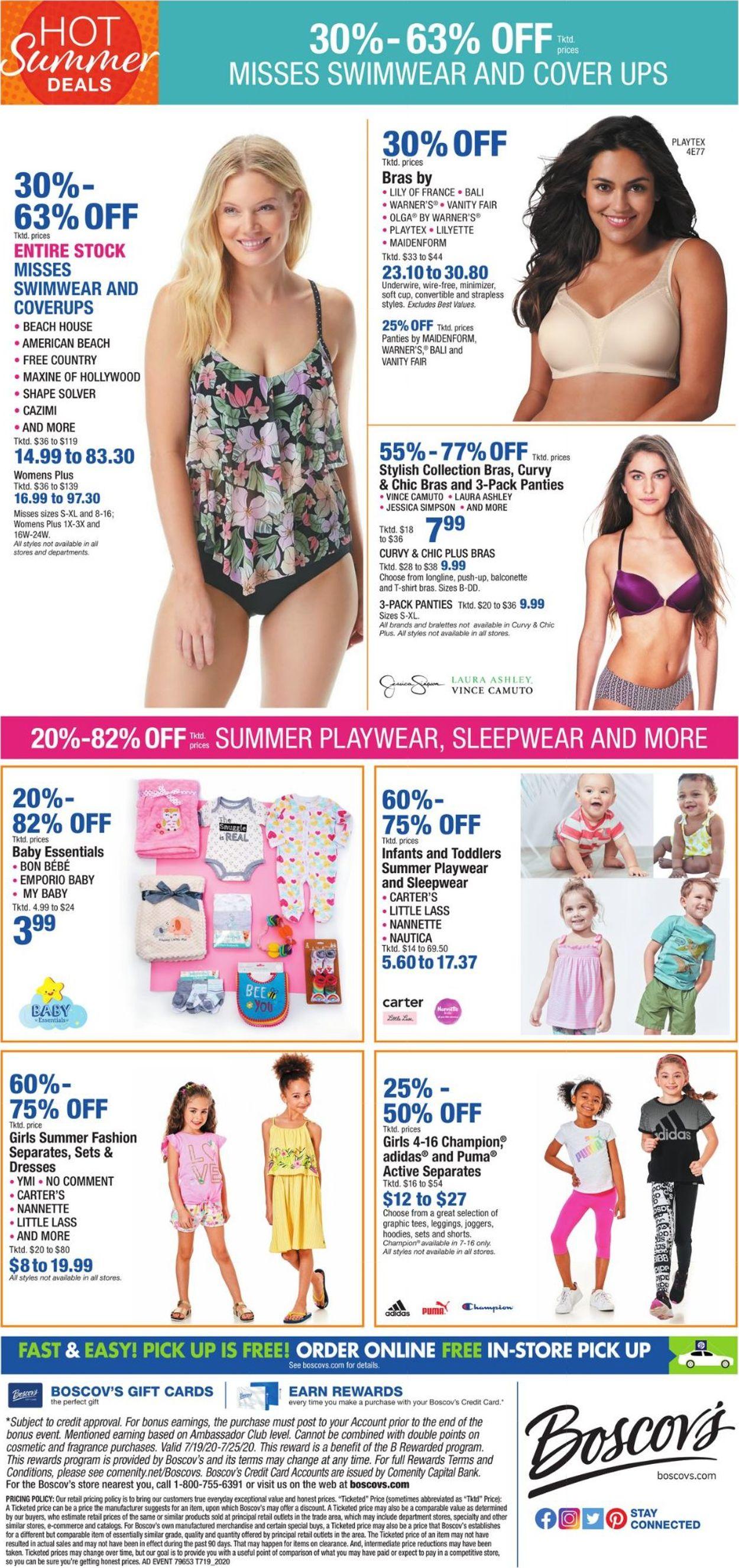 Catalogue Boscov's from 07/16/2020