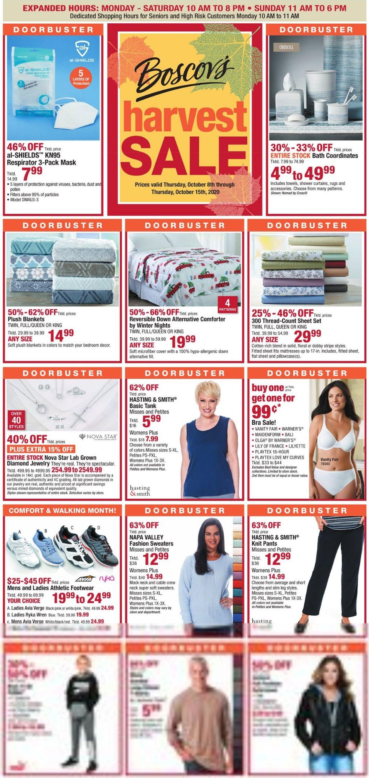 Catalogue Boscov's from 10/08/2020