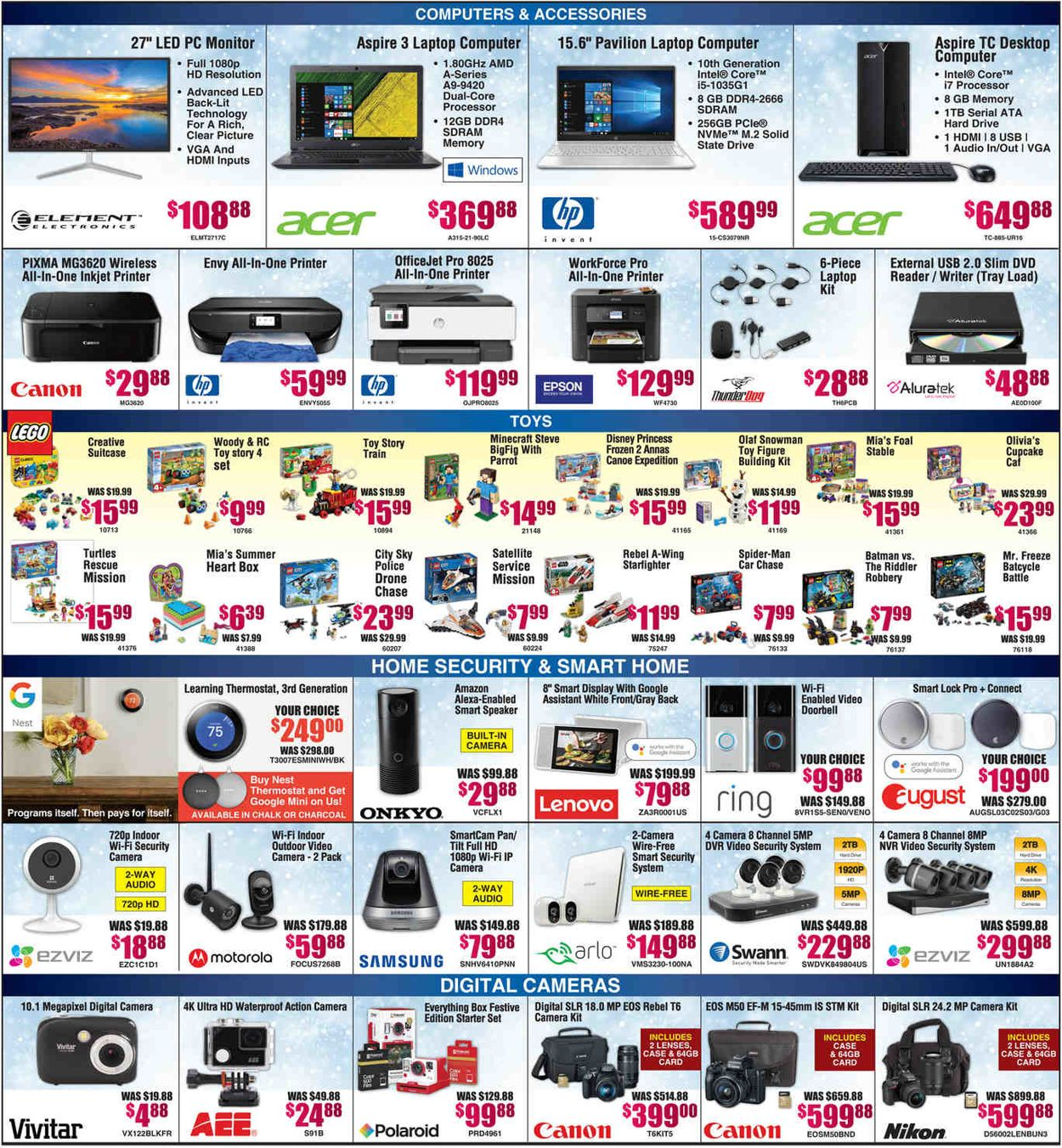 Catalogue Brandsmart USA - Christmas Deals Ad 2019 from 12/16/2019