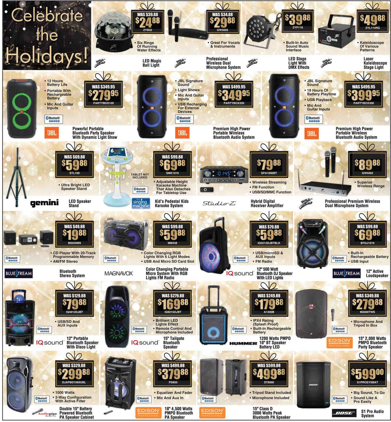 Catalogue Brandsmart USA - Christmas Deals Ad 2019 from 12/20/2019
