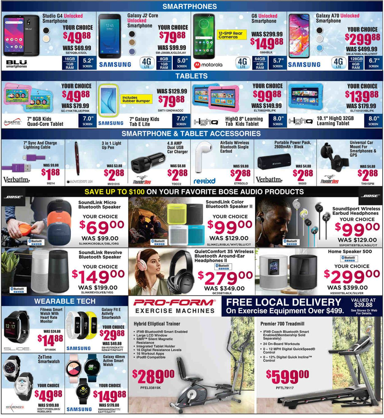 Catalogue Brandsmart USA - Christmas Last Minute Sale 2019 from 12/23/2019