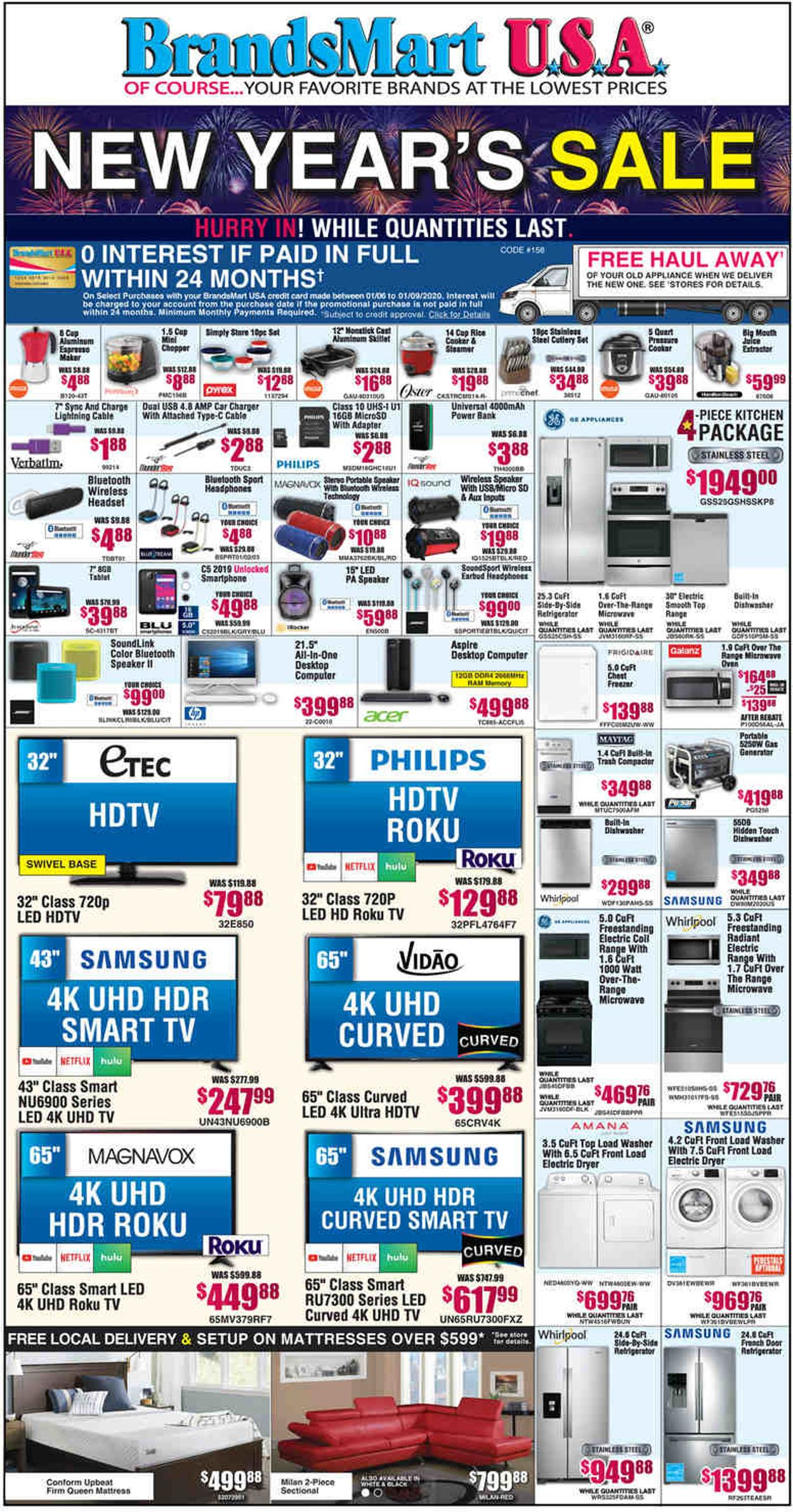 Catalogue Brandsmart USA from 01/06/2020