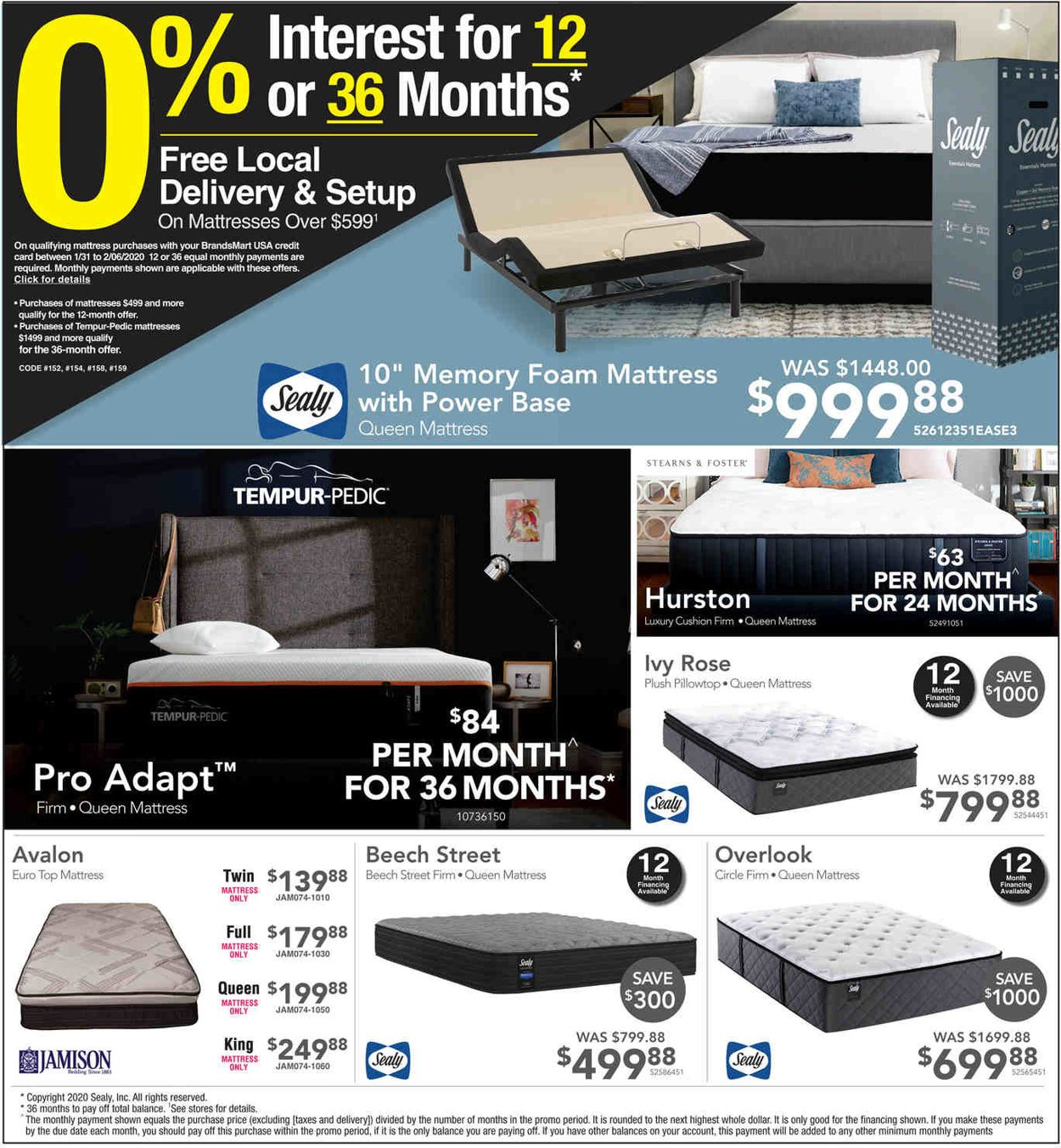 Catalogue Brandsmart USA from 01/31/2020