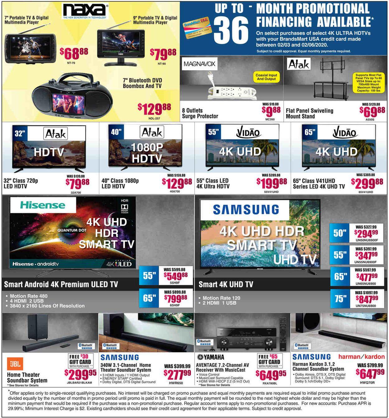 Catalogue Brandsmart USA from 02/03/2020