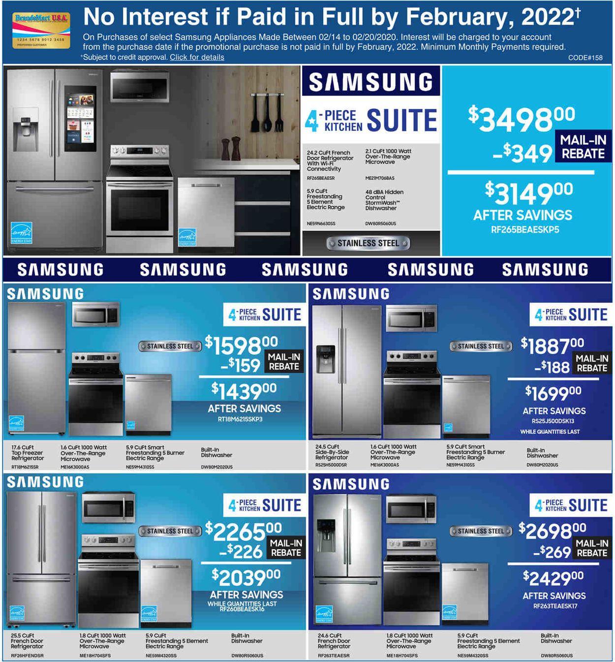 Catalogue Brandsmart USA from 02/14/2020
