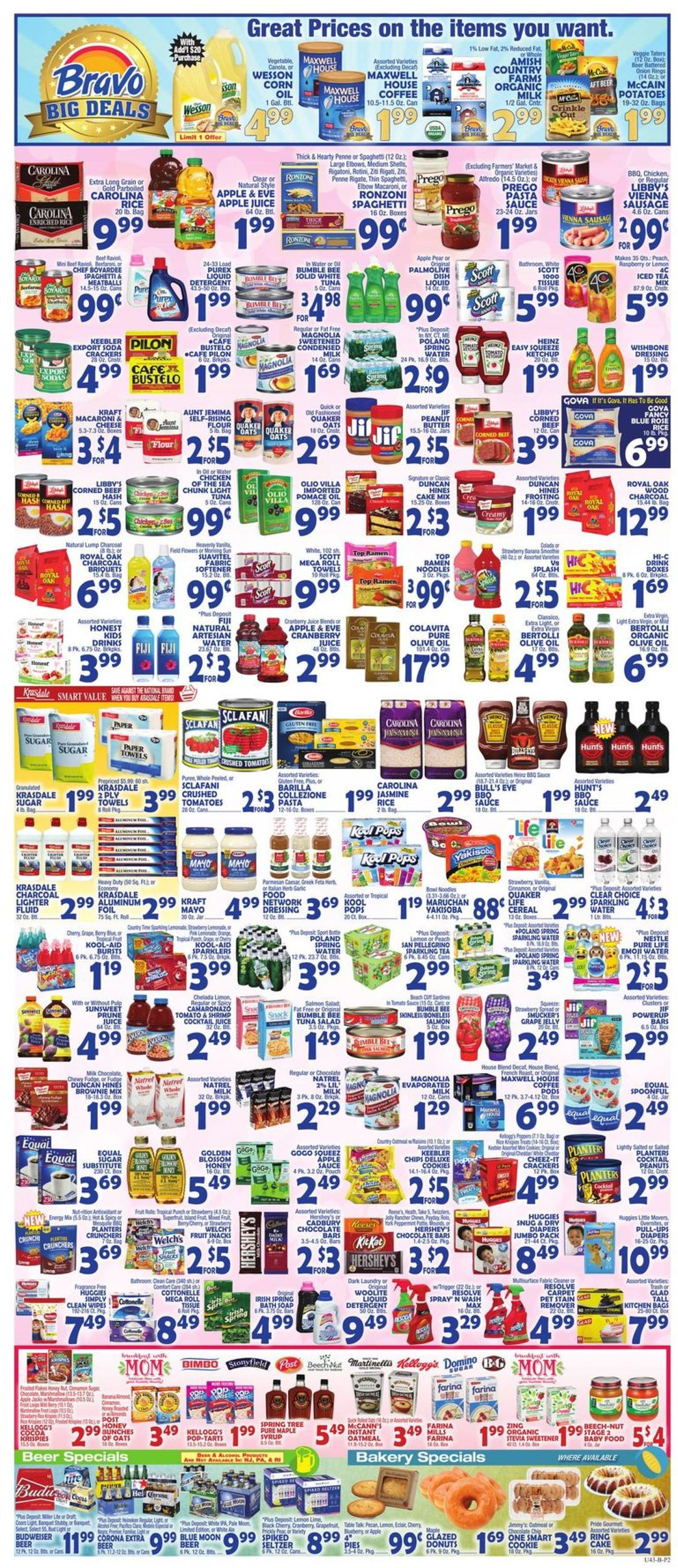Catalogue Bravo Supermarkets from 05/10/2019