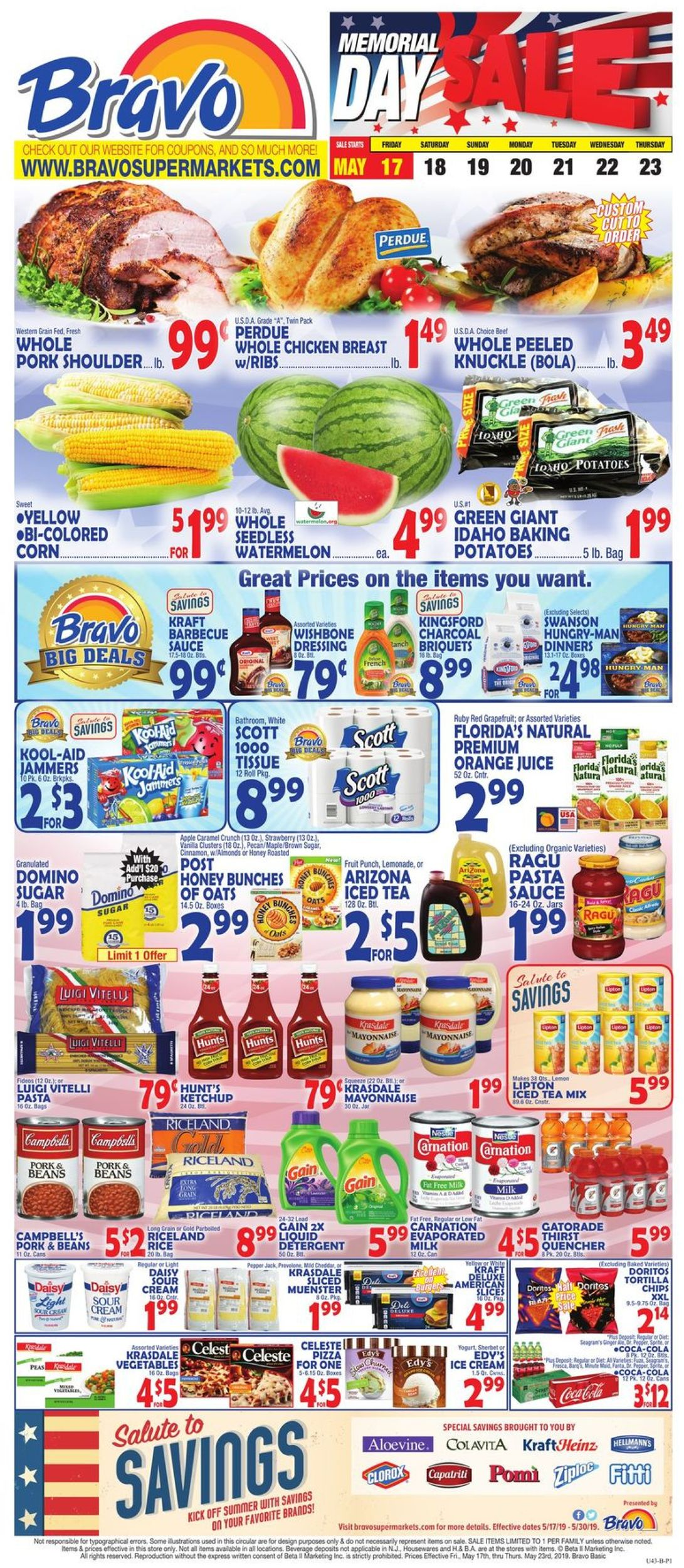 Catalogue Bravo Supermarkets from 05/17/2019