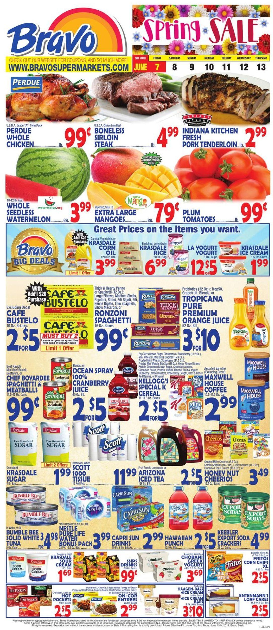 Catalogue Bravo Supermarkets from 06/07/2019