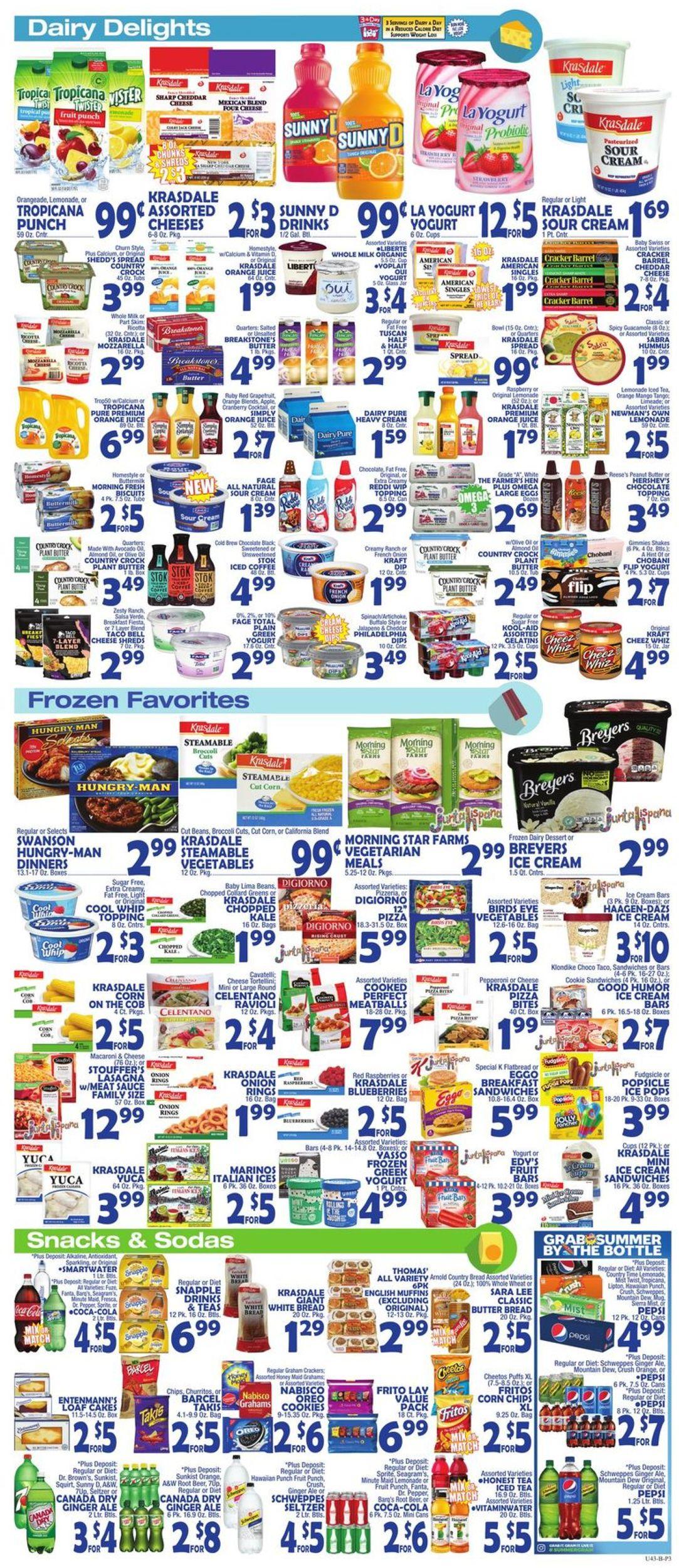 Catalogue Bravo Supermarkets from 07/05/2019