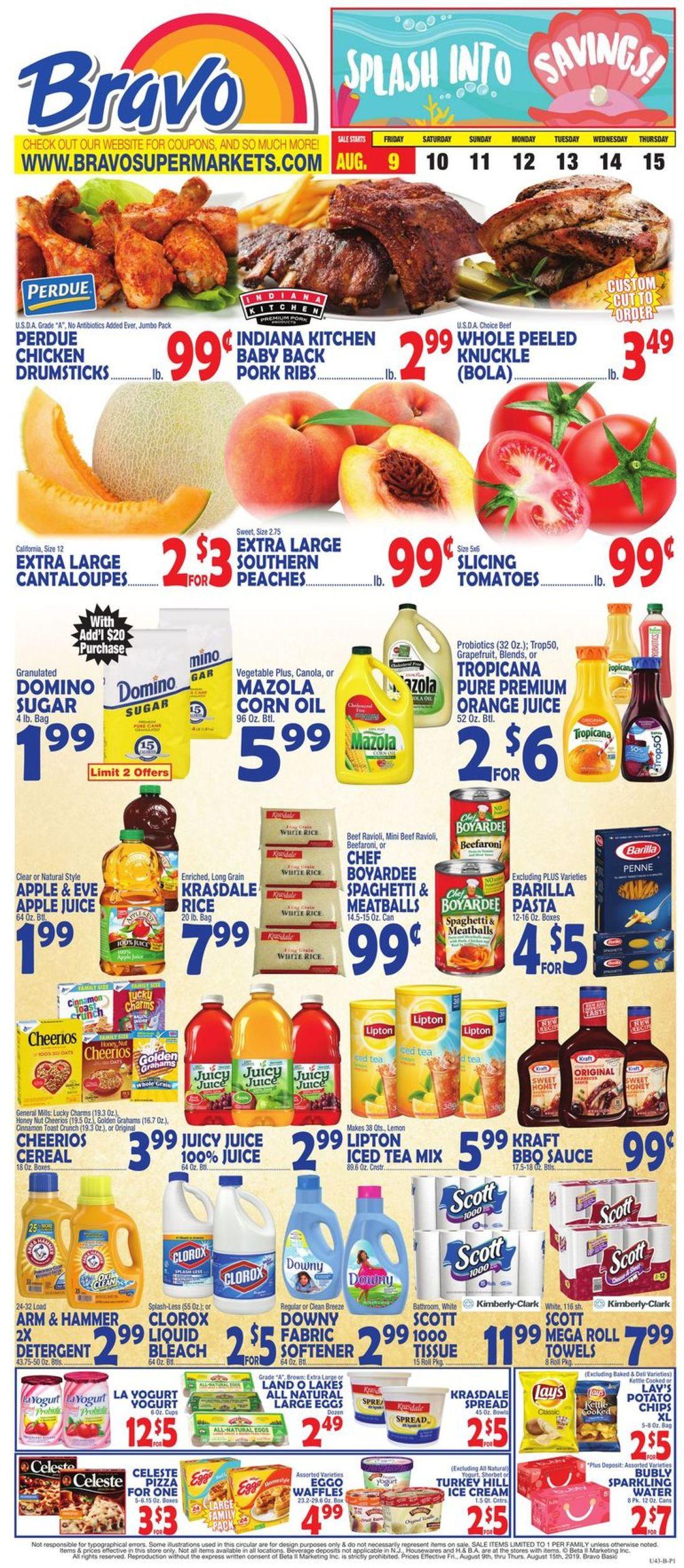 Catalogue Bravo Supermarkets from 08/09/2019