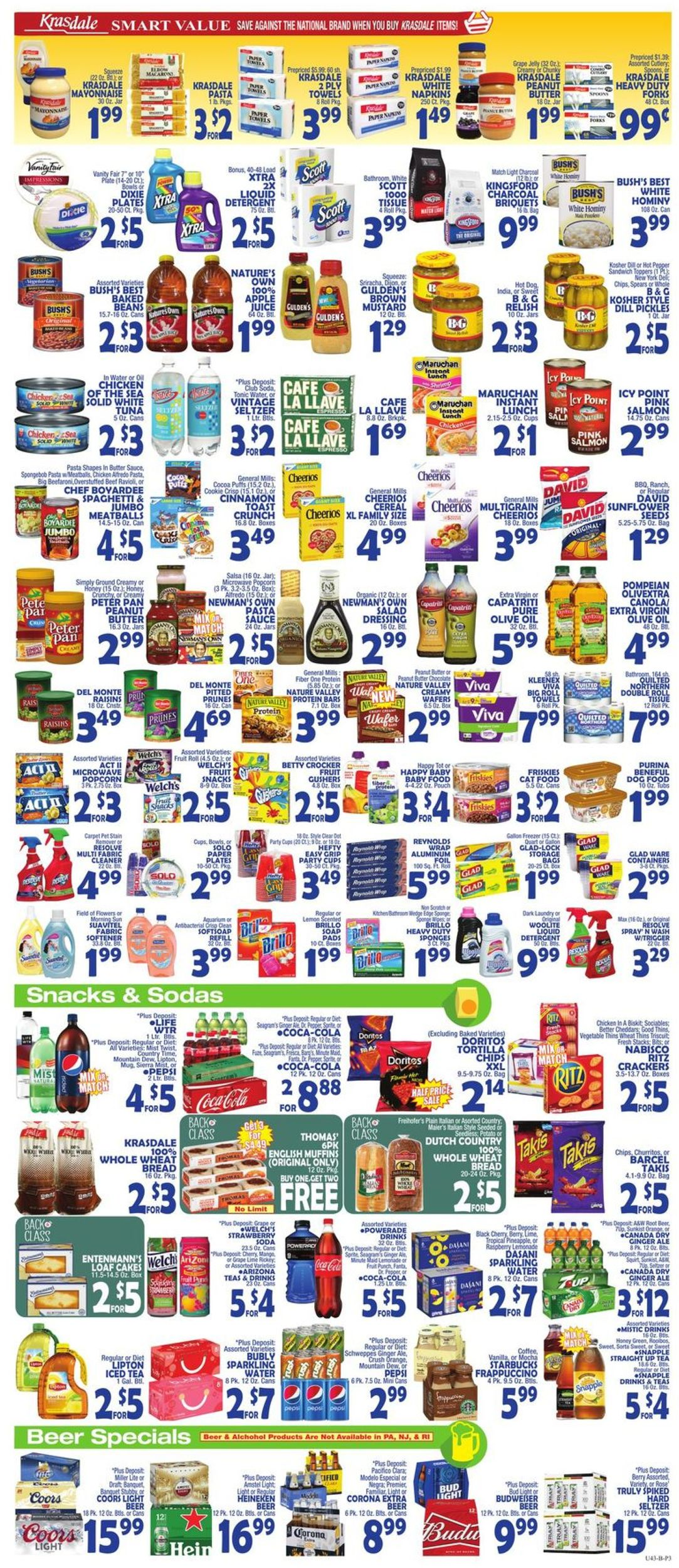 Bravo Supermarkets Current weekly ad 08/23 - 08/29/2019 [3] - weekly-ad-24.com