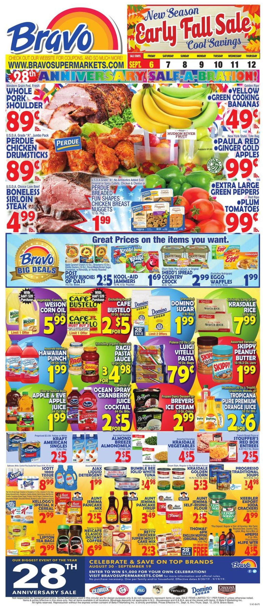 Catalogue Bravo Supermarkets from 09/06/2019