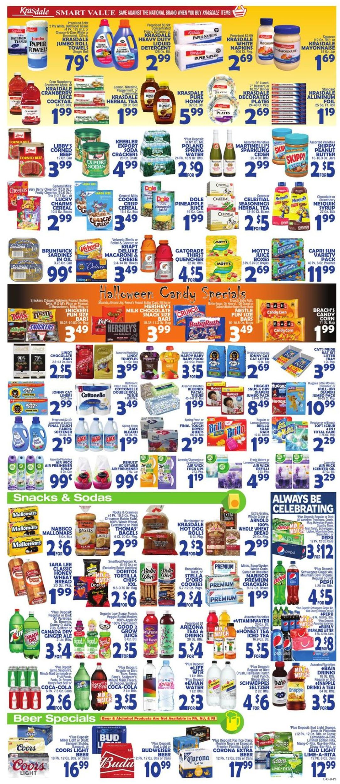 Catalogue Bravo Supermarkets from 10/11/2019