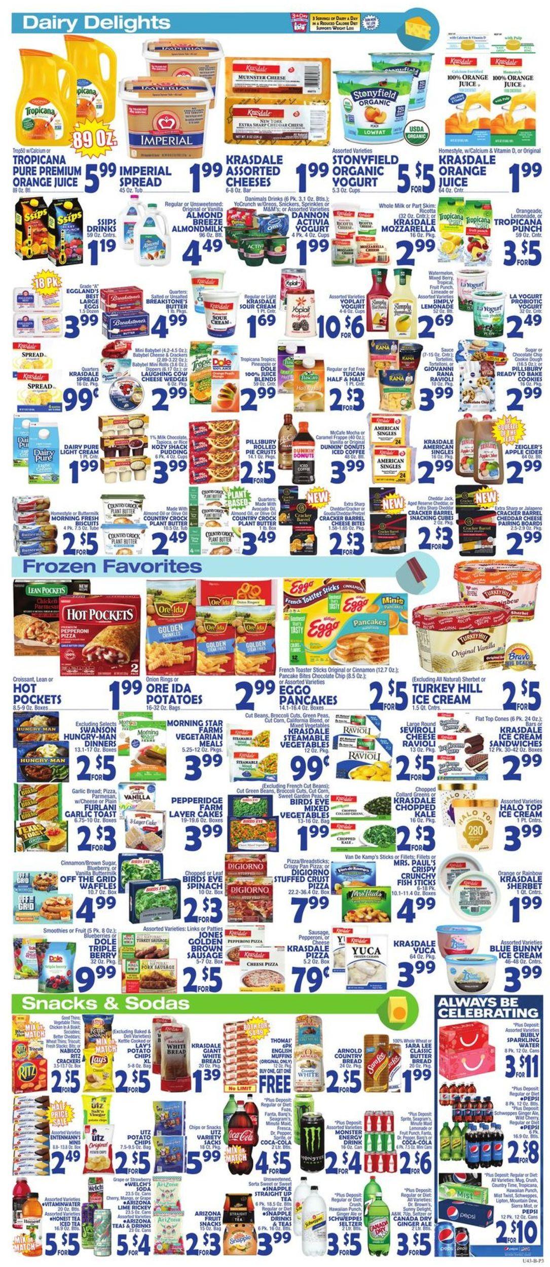 Catalogue Bravo Supermarkets from 10/25/2019