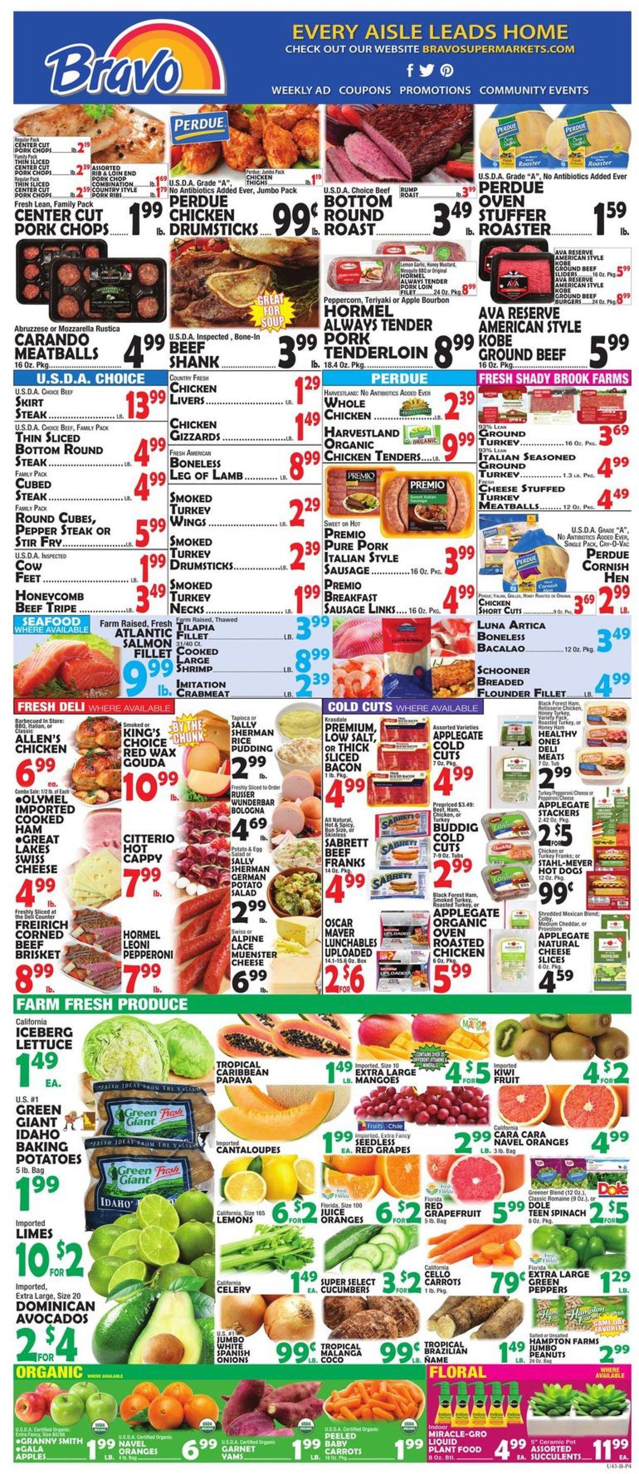 Catalogue Bravo Supermarkets from 01/10/2020