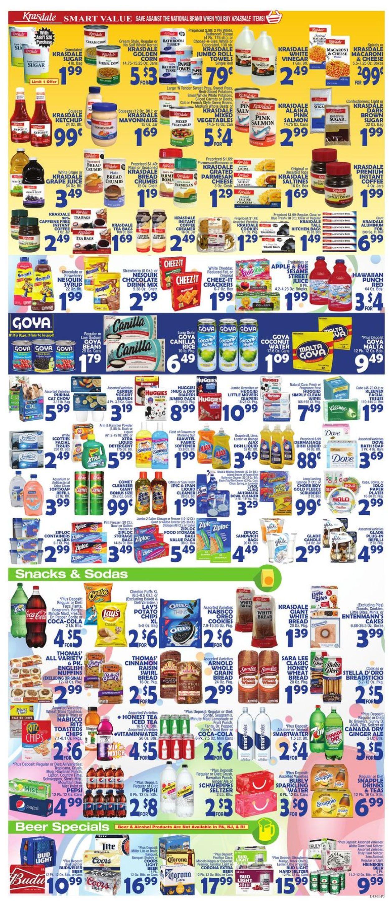 Catalogue Bravo Supermarkets from 02/28/2020