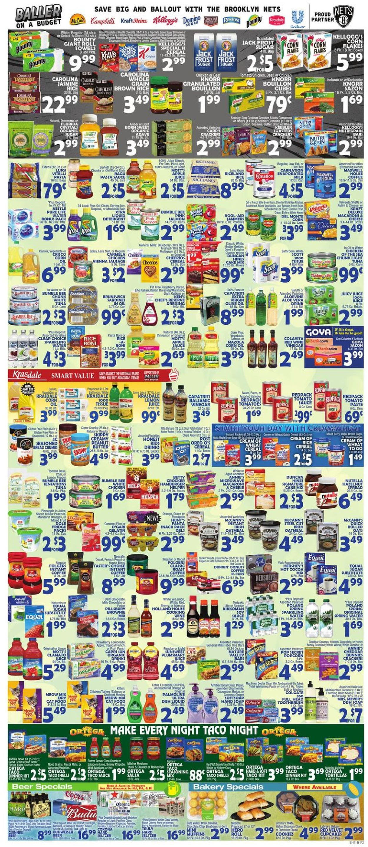 Catalogue Bravo Supermarkets from 03/13/2020