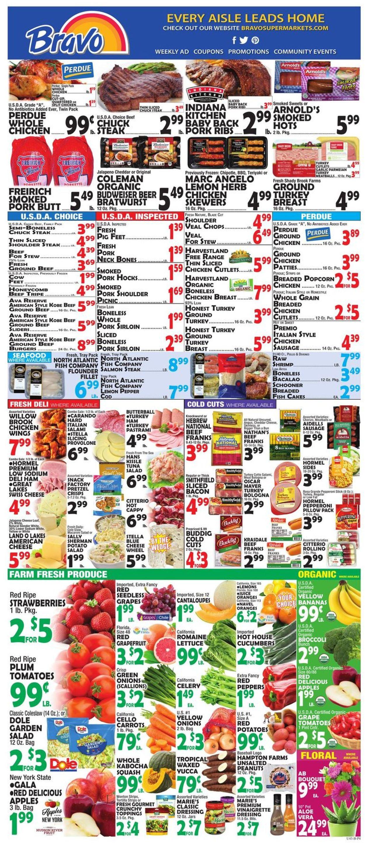 Catalogue Bravo Supermarkets from 03/20/2020